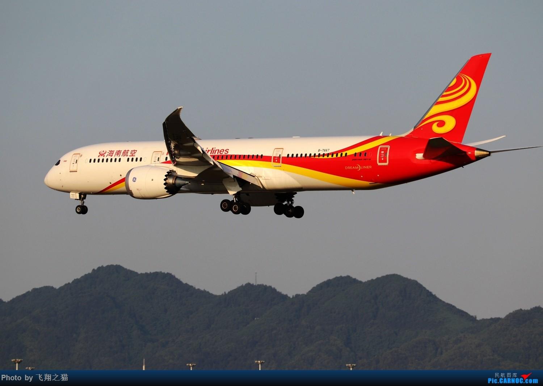 Re:[原创]CKG拍机(2019战高温2跑下滑道拍机) BOEING 787-9 B-7667 重庆江北国际机场