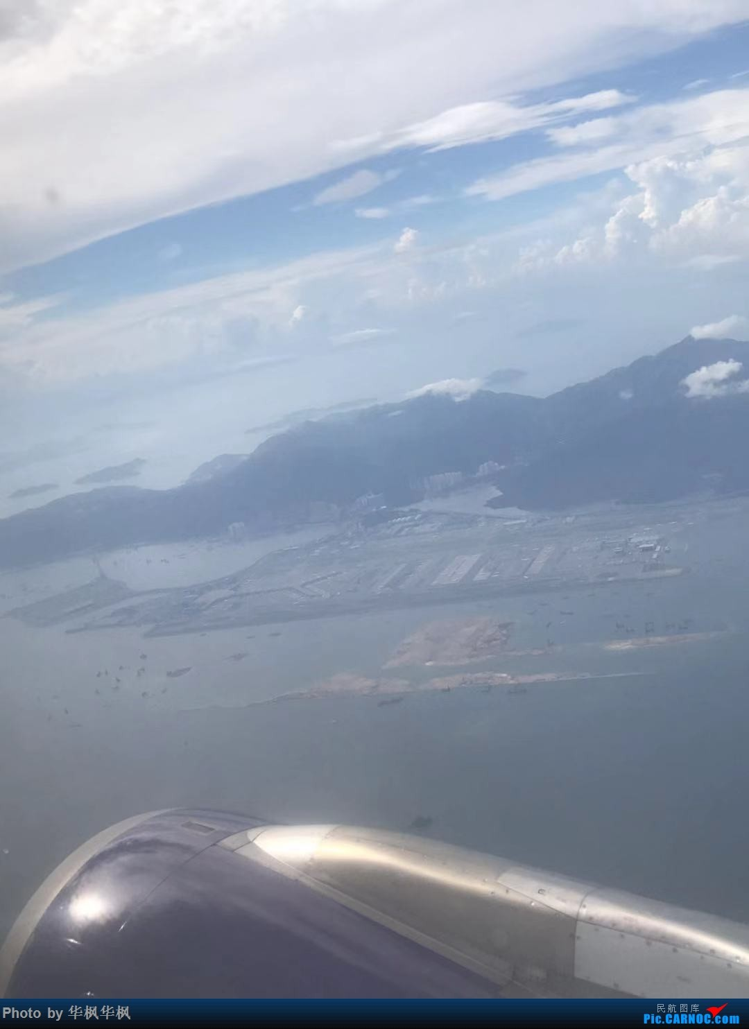 Re:[原创]空中俯瞰HKG香港赤鱲角机场    中国澳门国际机场