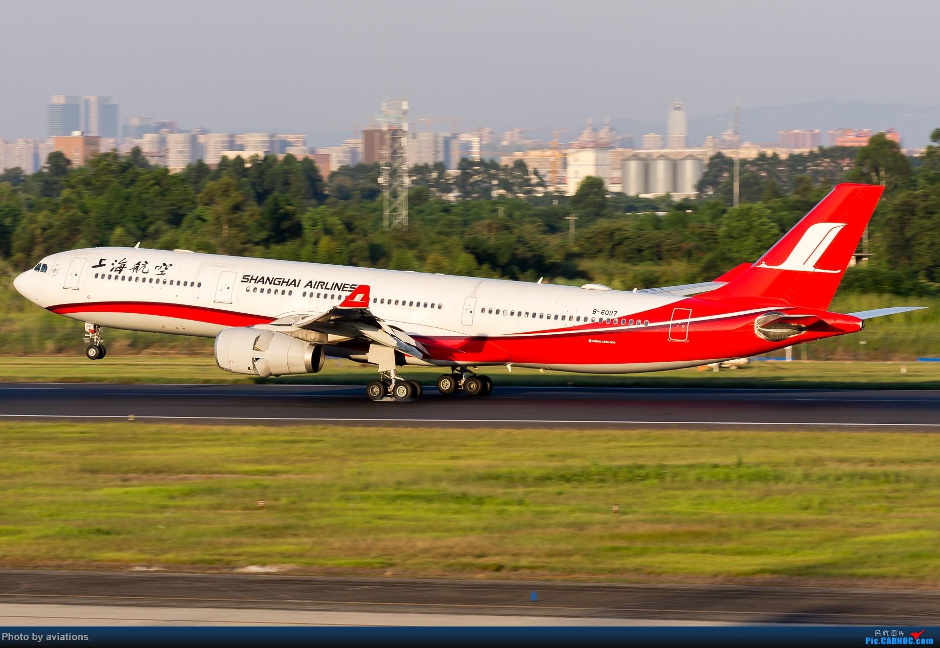 Re:[原创][CTU]日落前的余晖 AIRBUS A330-300 B-6097 中国成都双流国际机场