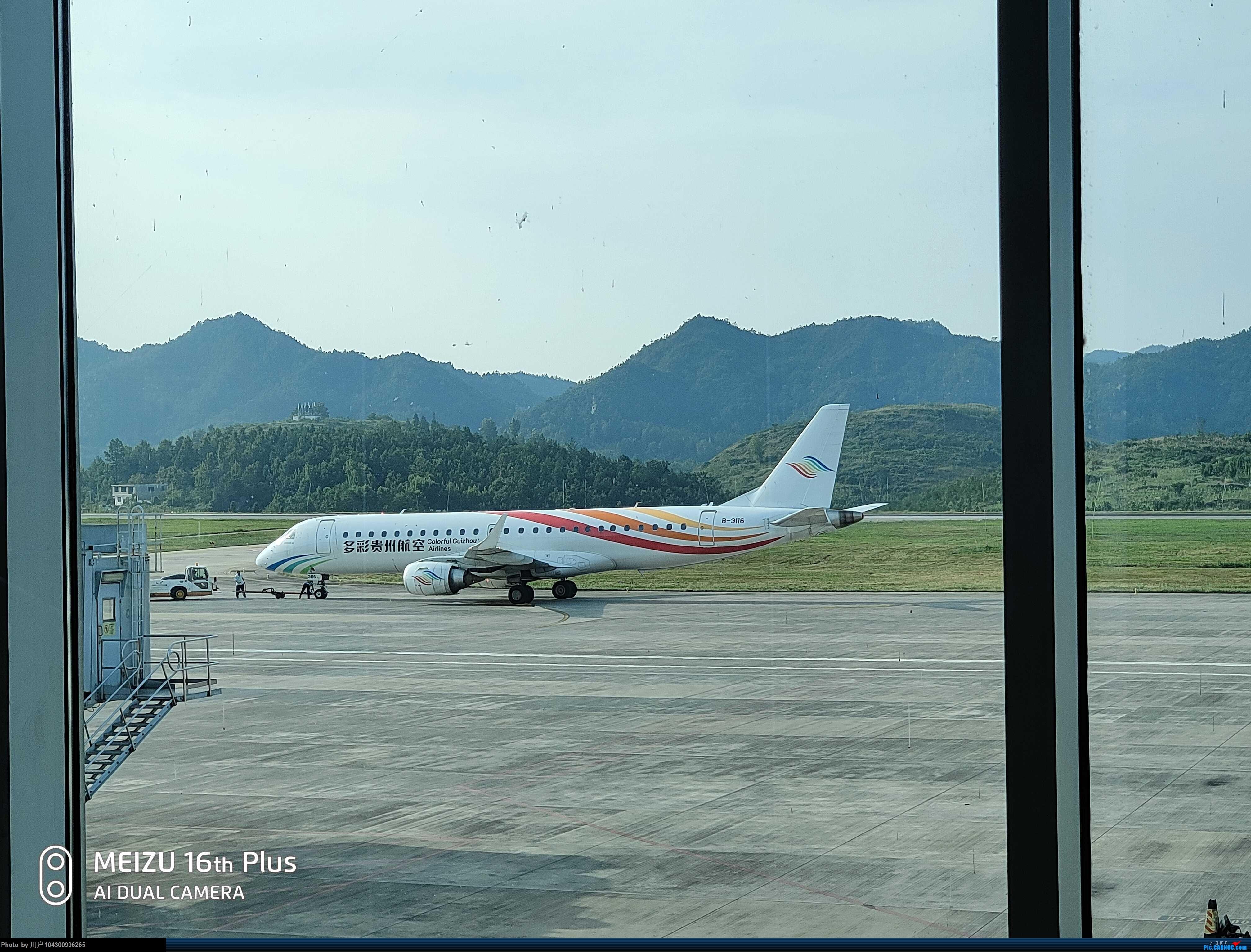 Re:[原创]DM游记之G5毕节--贵阳 EMBRAER E-190 B-3116 中国毕节飞雄机场