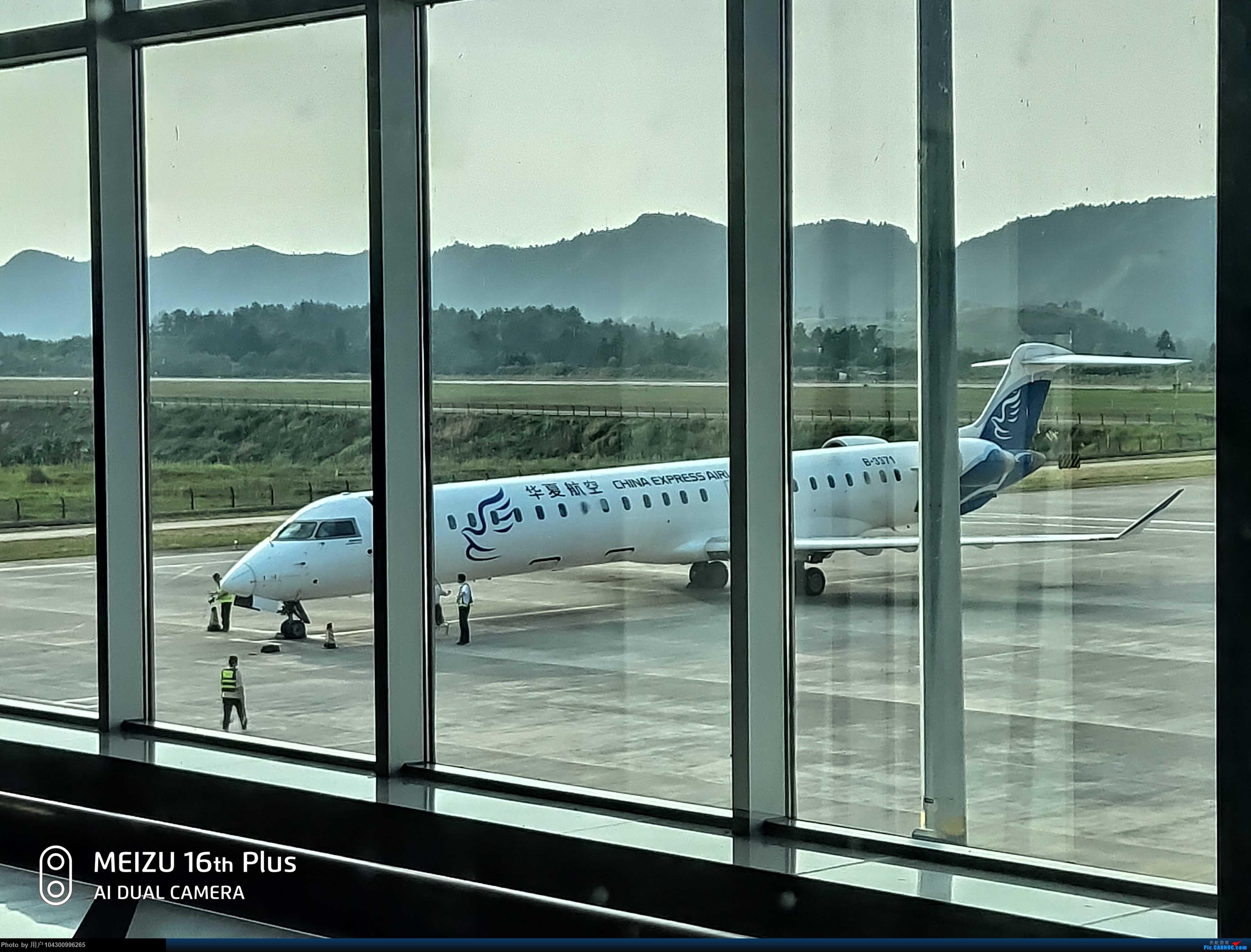 Re:[原创]DM游记之G5毕节--贵阳 BOMBARDIER CRJ900NG B-3371 中国毕节飞雄机场