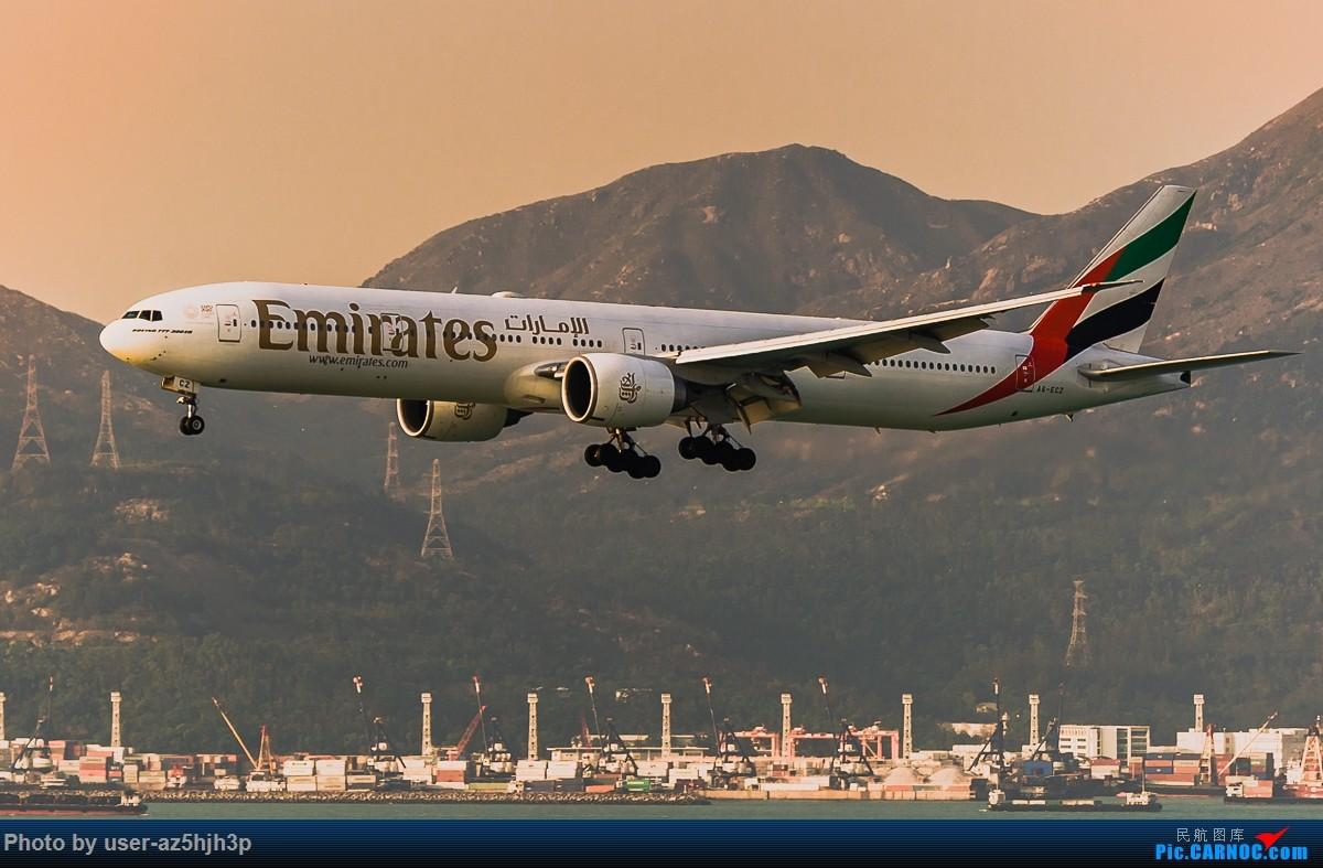 Re:[原创]无题 B777-300ER A6-ECZ 香港国际机场