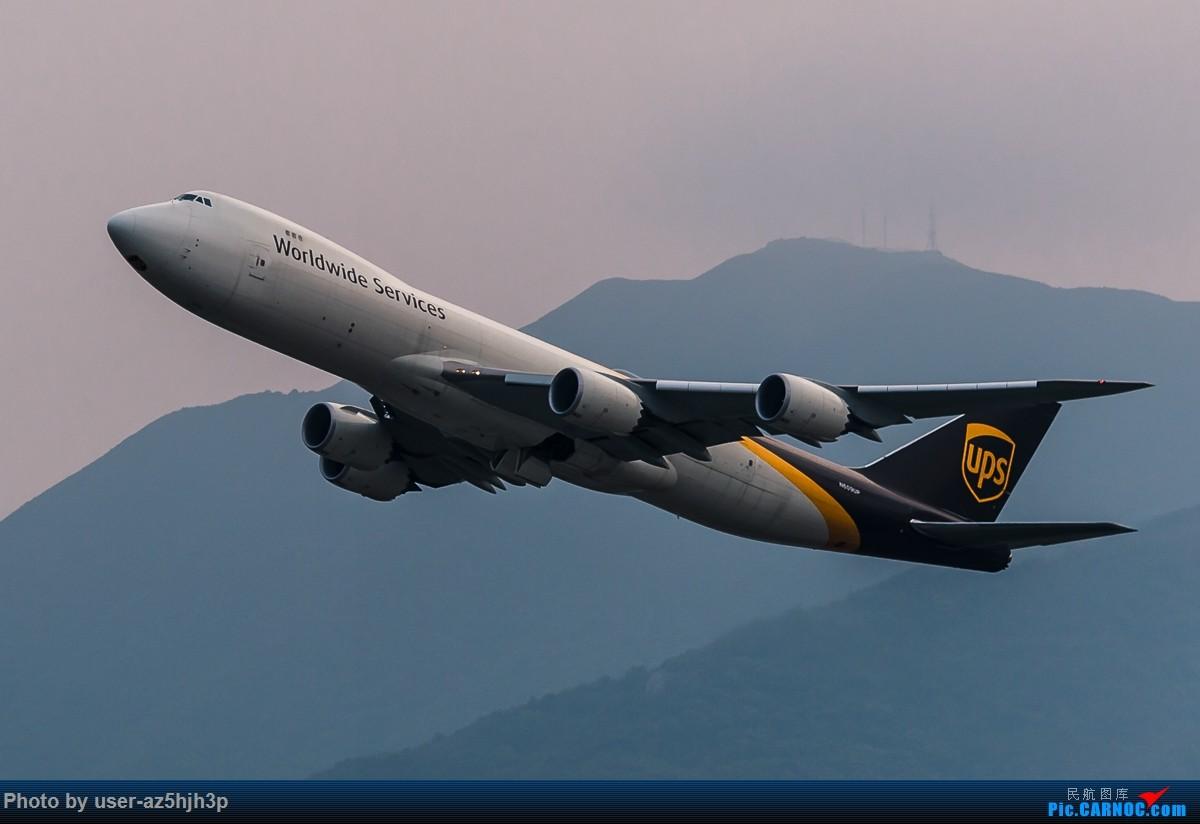 Re:[原创]无题 BOEING 747-8 N609UP 香港国际机场