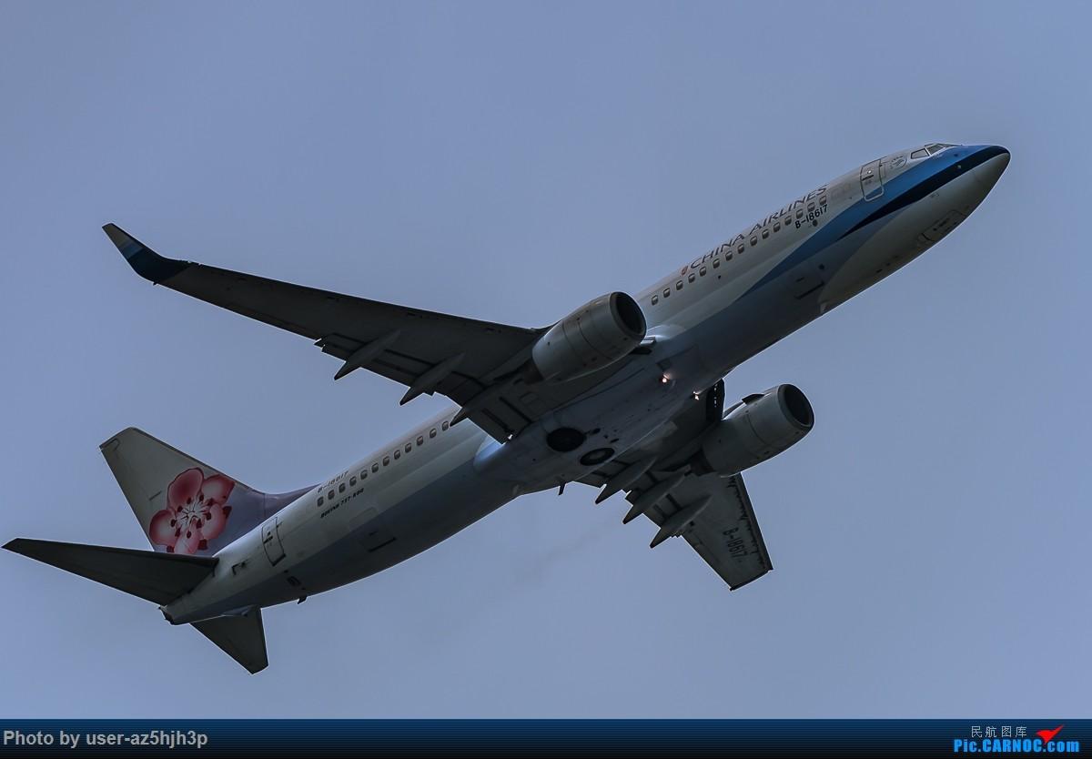 Re:[原创]无题 BOEING 737-800 B-18617 香港国际机场