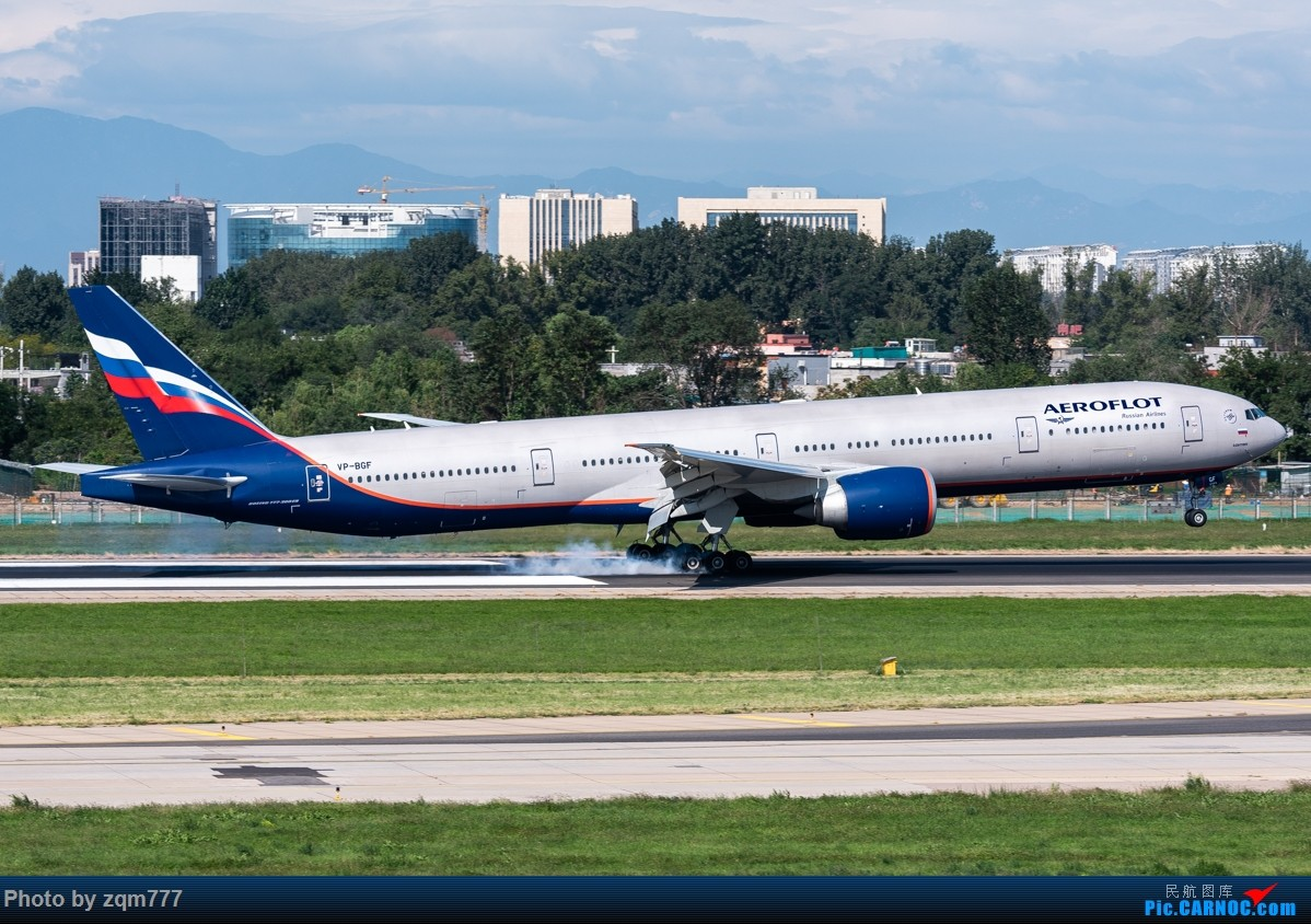 Re:[原创]【PEK】北京拍机杂图 BOEING 777-300ER VP-BGF 中国北京首都国际机场