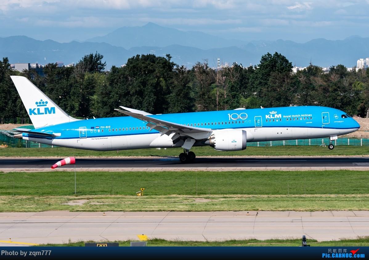 Re:[原创]【PEK】北京拍机杂图 BOEING 787-9 PH-BHI 中国北京首都国际机场