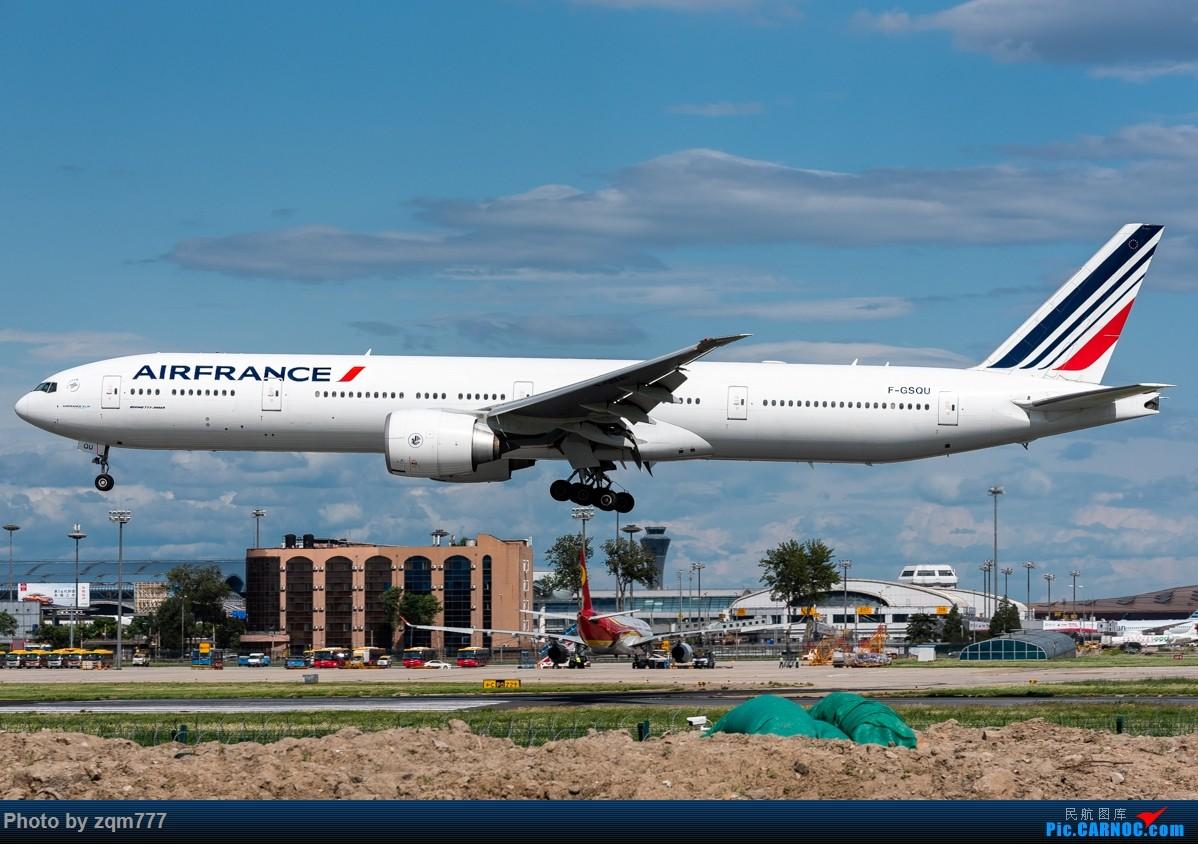 Re:[原创]【PEK】北京拍机杂图 BOEING 777-300ER F-GSQU 中国北京首都国际机场