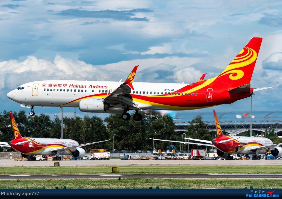 Re:[原创]【PEK】北京拍机杂图 BOEING 737-800 B-1783 中国北京首都国际机场