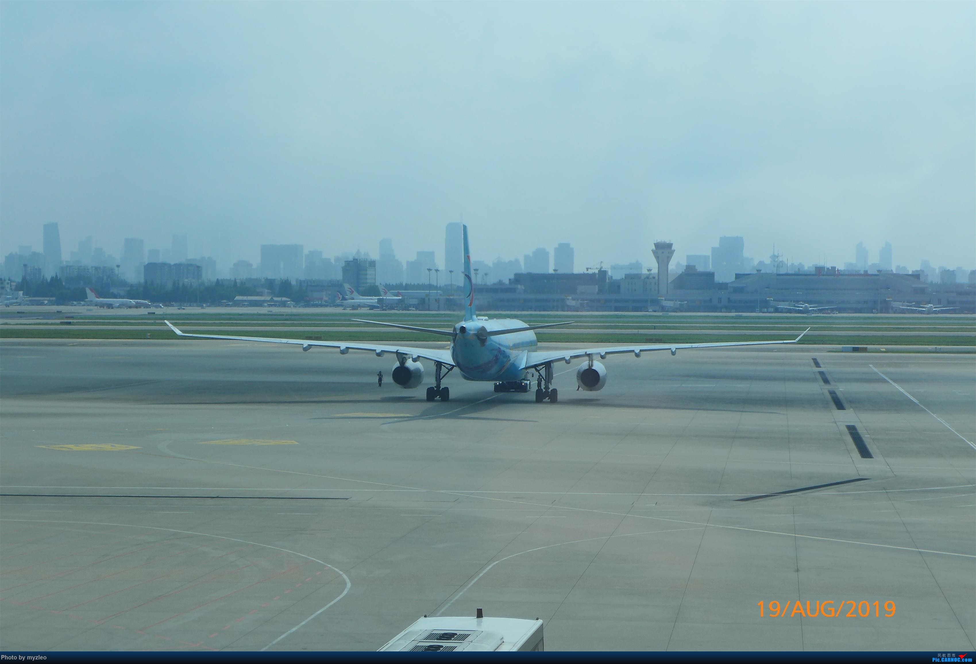 Re:[原创]【myzleo的游记5.1】梦圆一九(1)首搭国航359,北京城里到处走 AIRBUS A330-300 B-5976 中国上海虹桥国际机场