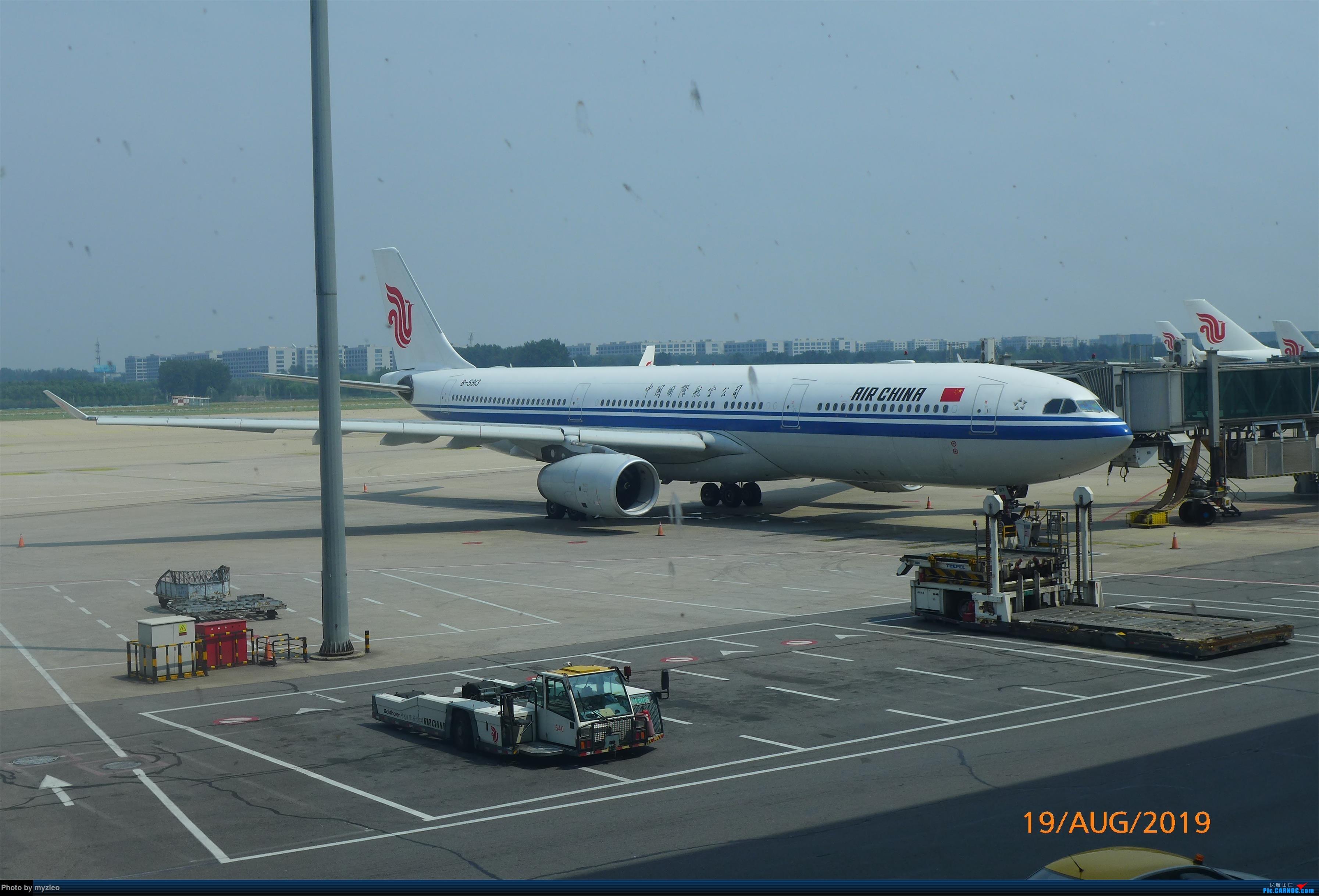 Re:[原创]【myzleo的游记5.1】梦圆一九(1)首搭国航359,北京城里到处走 AIRBUS A330-300 B-5913 中国北京首都国际机场