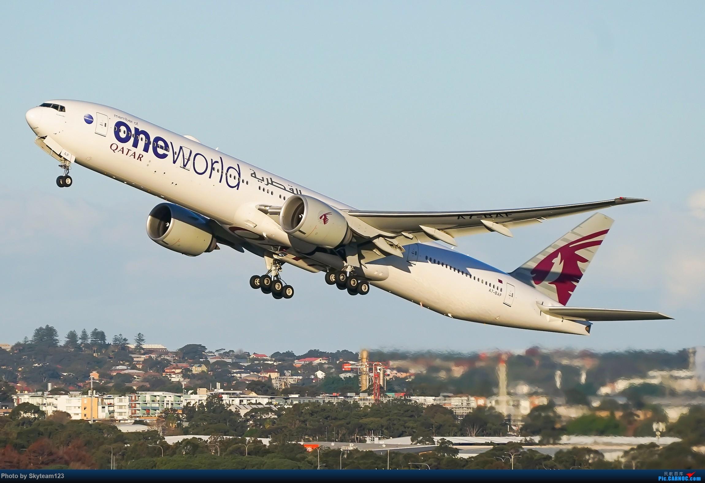 [原创]【SYD】近期精选杂图 BOEING 777-300ER A7-BAF 澳大利亚悉尼金斯福德·史密斯机场
