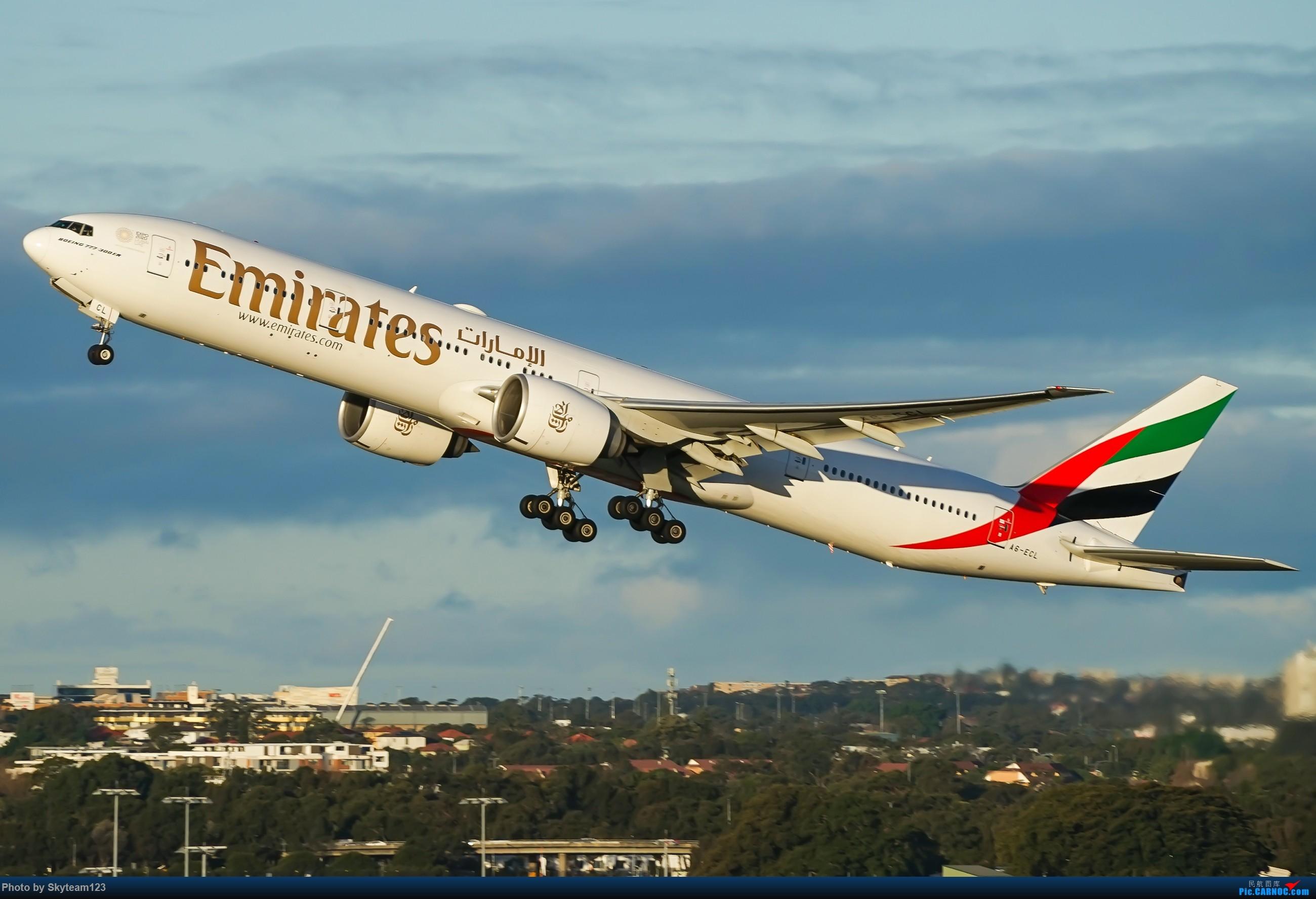 Re:[原创]【SYD】近期宽体精选杂图 BOEING 777-300ER A6-ECL 澳大利亚悉尼金斯福德·史密斯机场