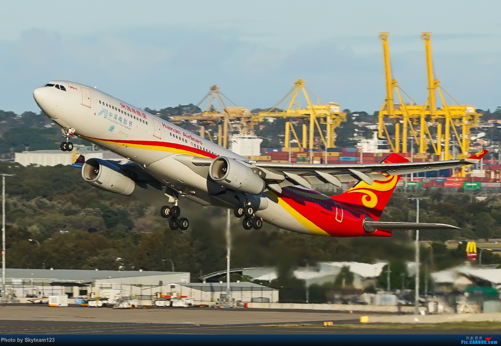 Re:[原创]【SYD】近期宽体精选杂图 AIRBUS A330-300 B-8118 澳大利亚悉尼金斯福德·史密斯机场