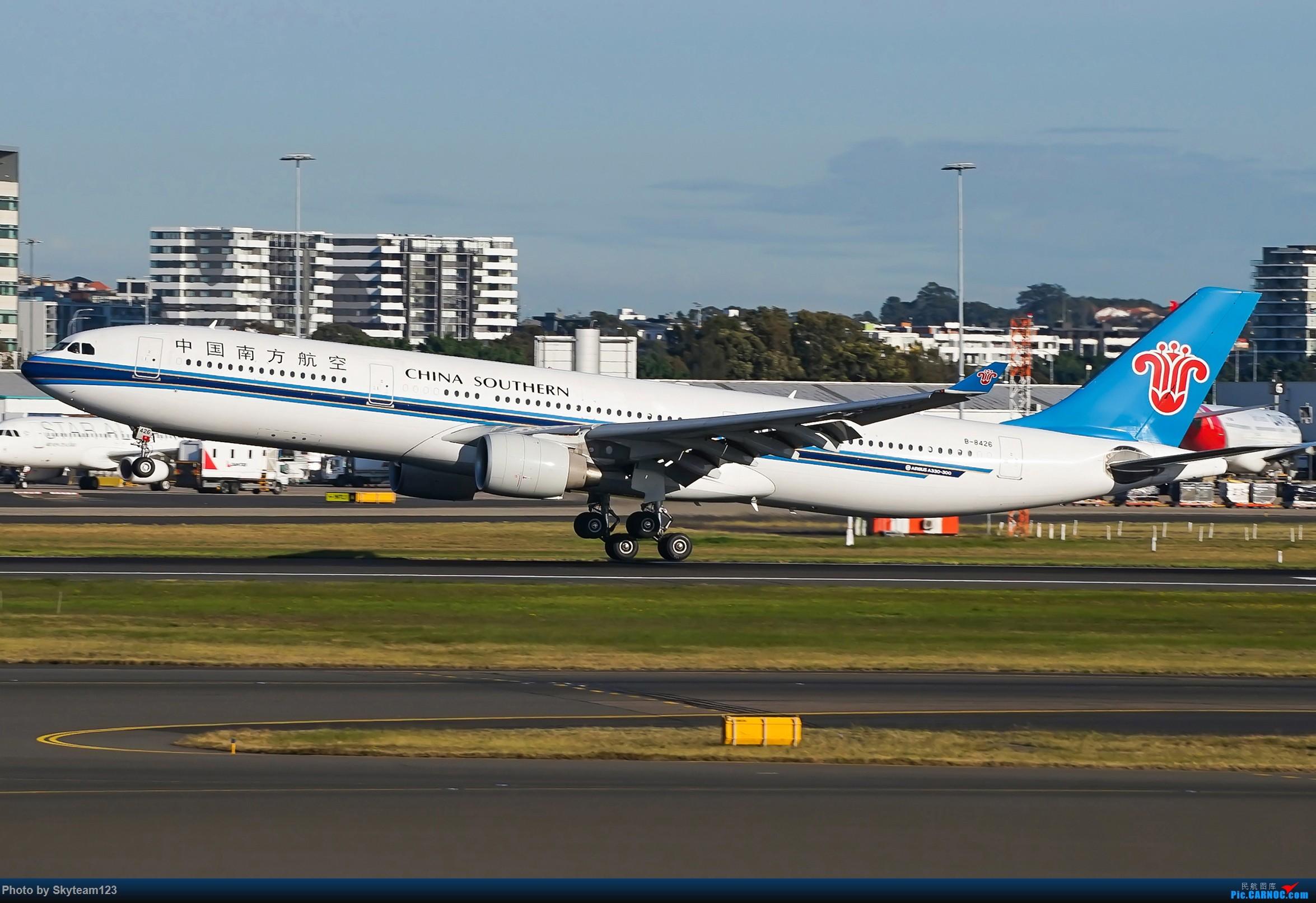 Re:[原创]【SYD】近期宽体精选杂图 AIRBUS A330-300 B-8426 澳大利亚悉尼金斯福德·史密斯机场