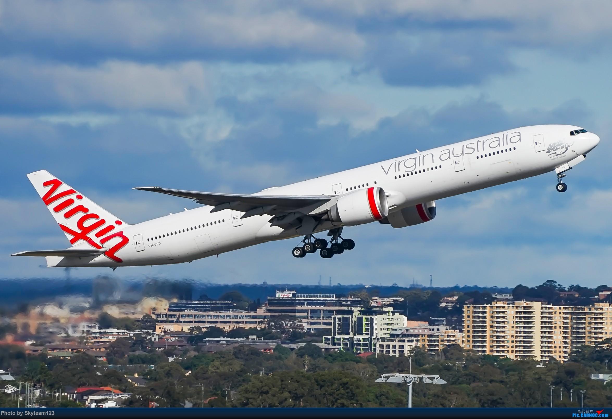 Re:[原创]【SYD】近期宽体精选杂图 BOEING 777-300ER VH-VPD 澳大利亚悉尼金斯福德·史密斯机场