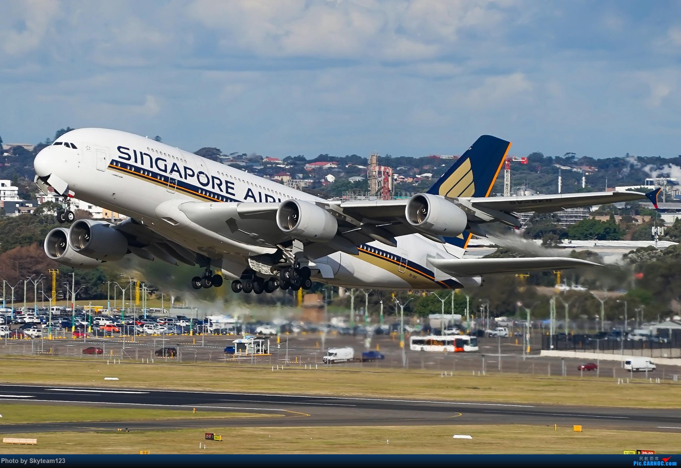 Re:[原创]【SYD】近期宽体精选杂图 AIRBUS A380-800 9V-SKR 澳大利亚悉尼金斯福德·史密斯机场