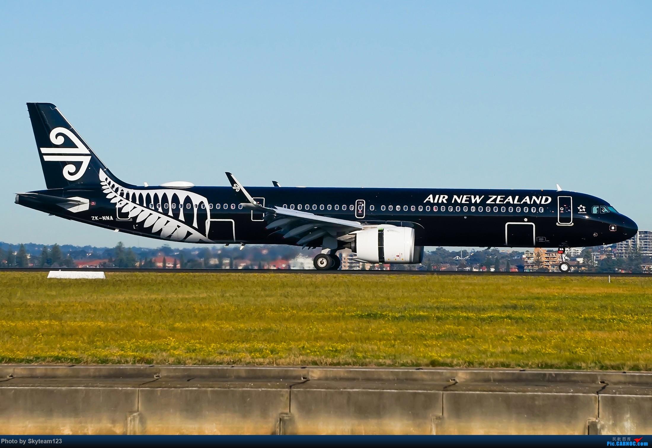 Re:[原创]【SYD】近期宽体精选杂图 AIRBUS A321NEO ZK-NNA 澳大利亚悉尼金斯福德·史密斯机场