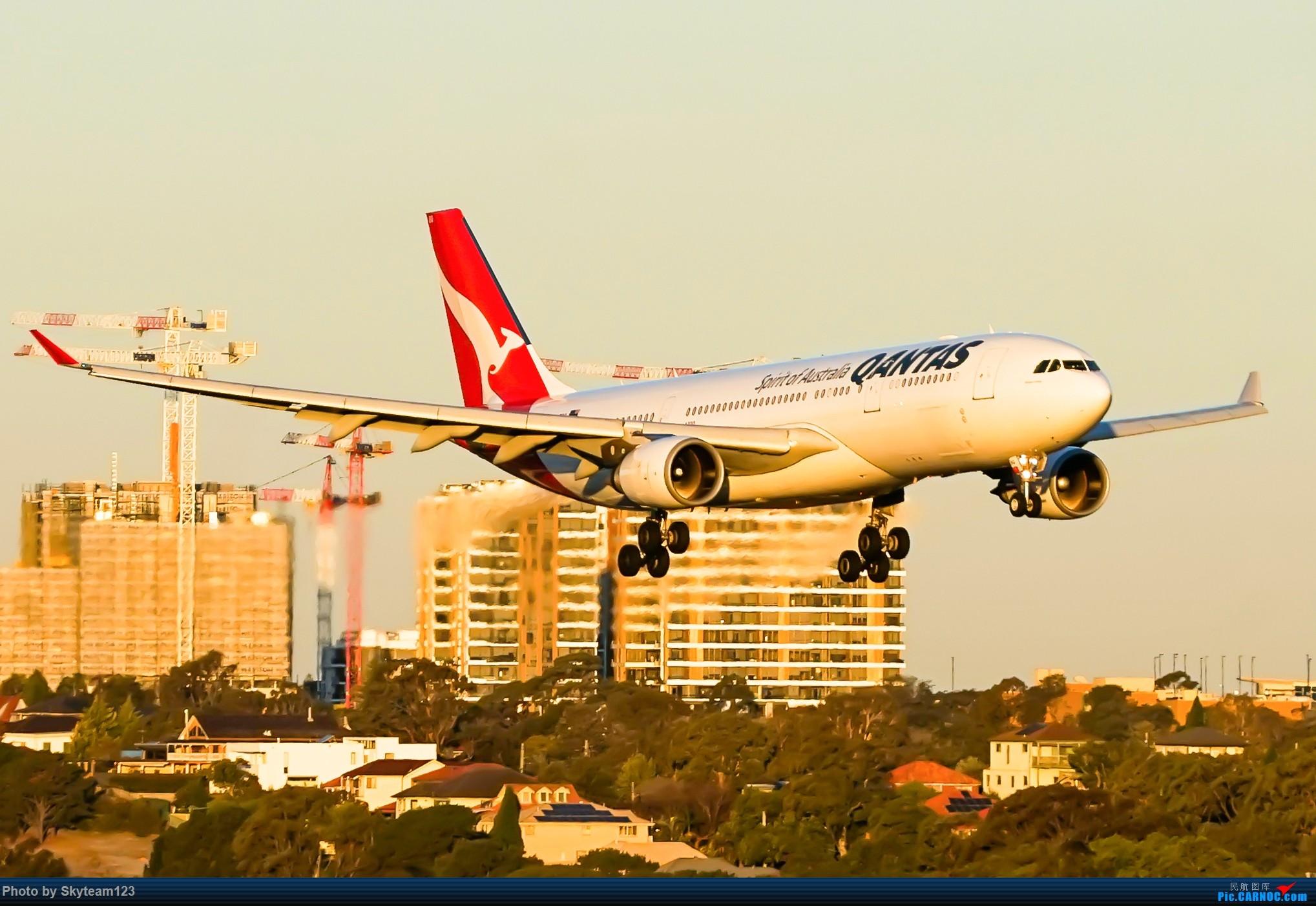 Re:[原创]【SYD】近期宽体精选杂图 AIRBUS A330-200 VH-EBQ 澳大利亚悉尼金斯福德·史密斯机场