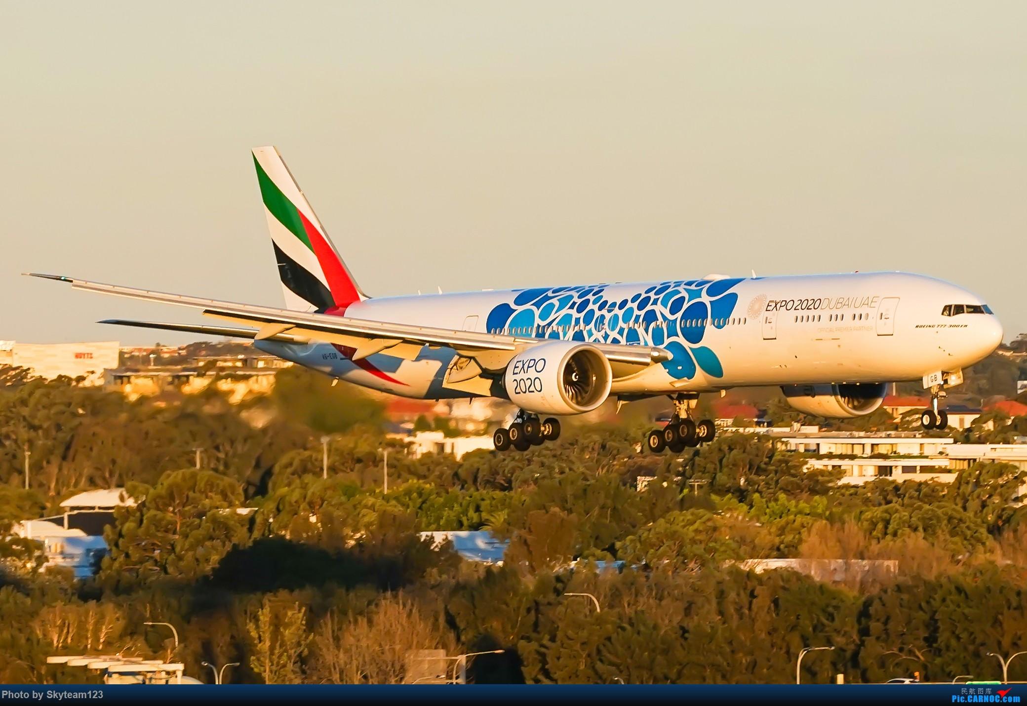 Re:[原创]【SYD】近期宽体精选杂图 BOEING 777-300ER A6-EGB 澳大利亚悉尼金斯福德·史密斯机场