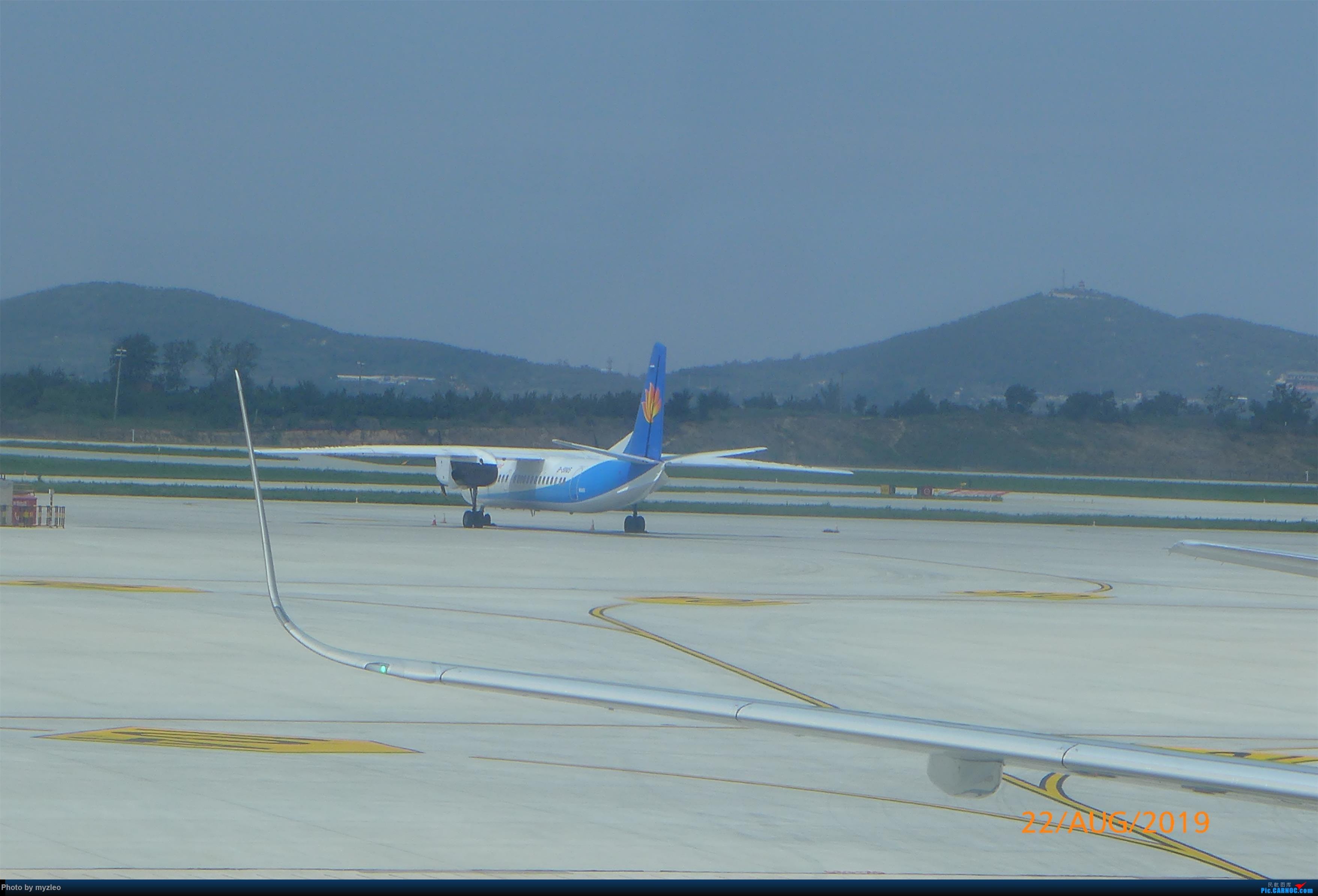 Re:【myzleo的游记5.2】梦圆一九(2)首访南苑把梦圆,初搭巴航连新缘 XIAN AIRCRAFT MA 60 B-3705 中国烟台蓬莱国际机场
