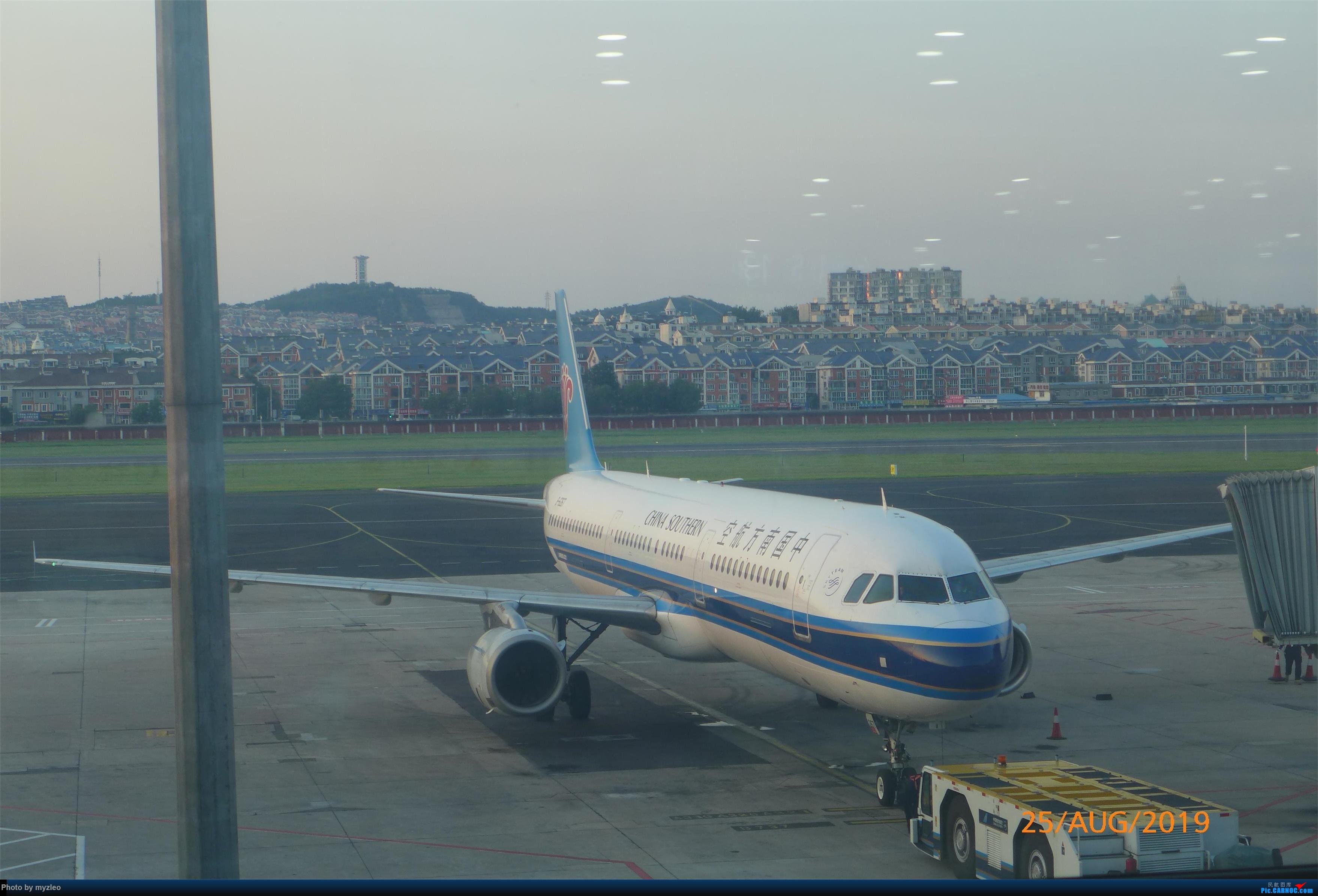 Re:[原创]【myzleo的游记5.3】在大连各景点穿梭不停,坐东航319返回上海 AIRBUS A321-200  中国大连国际机场