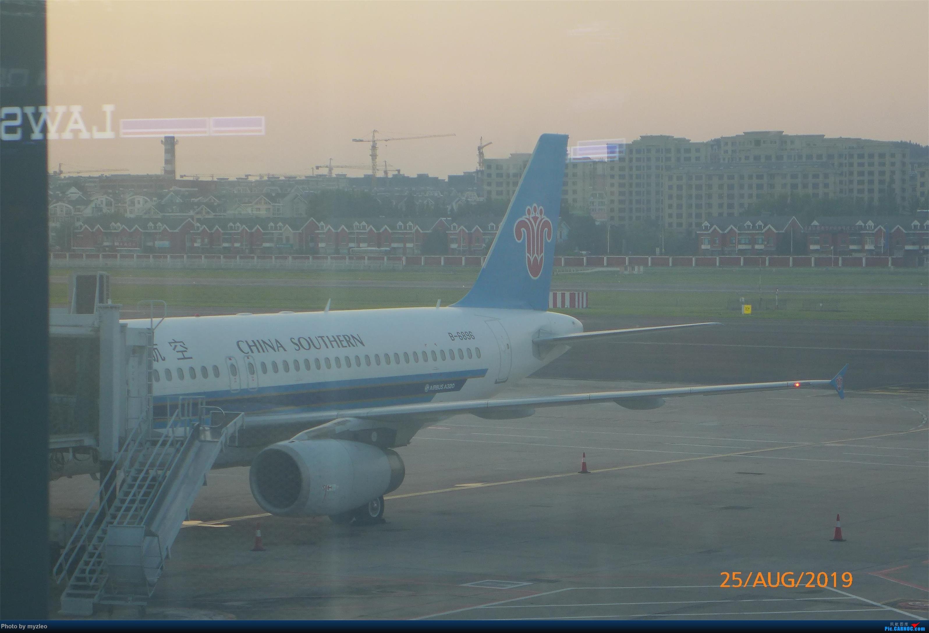 Re:[原创]【myzleo的游记5.3】在大连各景点穿梭不停,坐东航319返回上海 AIRBUS A320-200 B-6896 中国大连国际机场