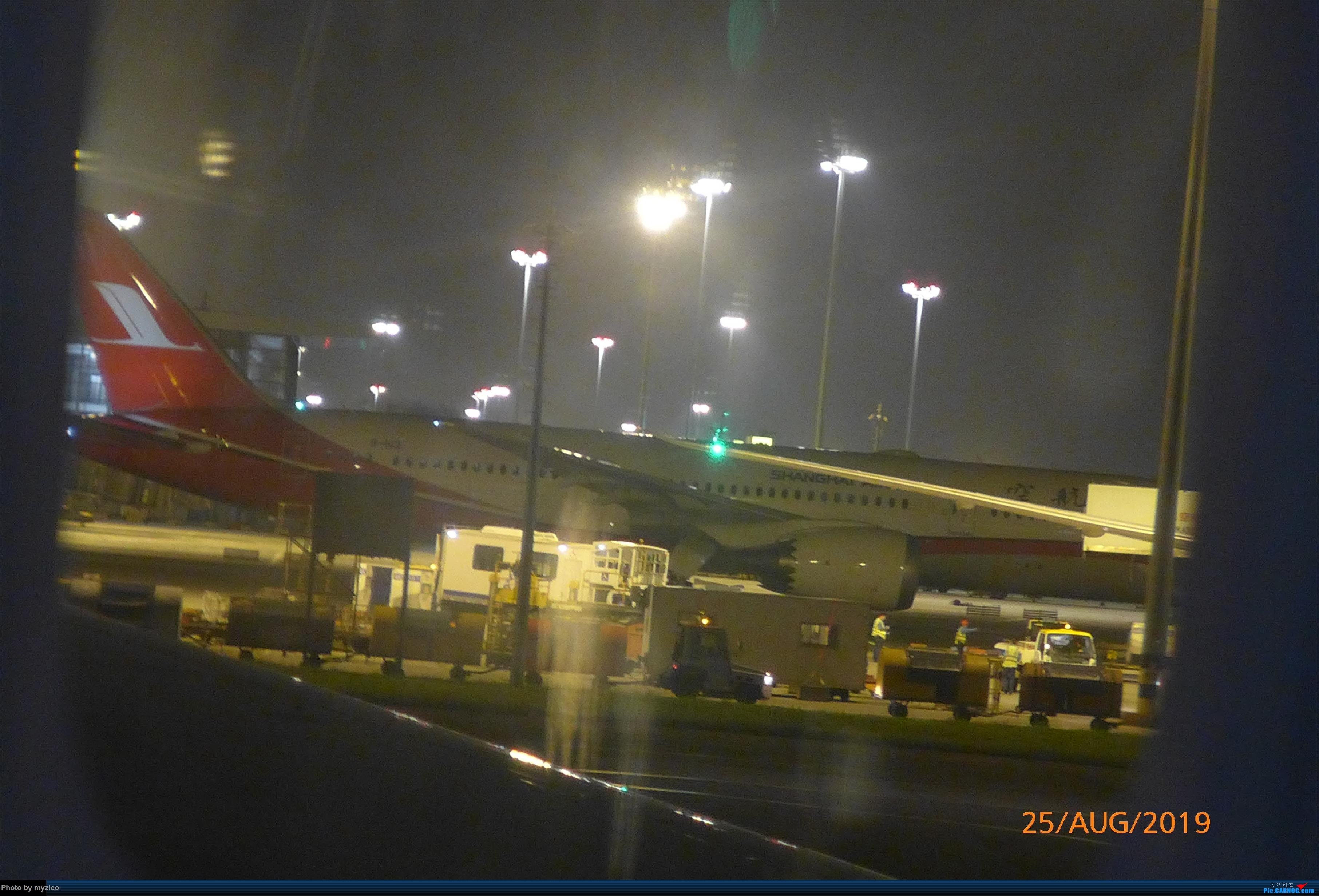 Re:[原创]【myzleo的游记5.3】在大连各景点穿梭不停,坐东航319返回上海 BOEING 787-9 B-1112 中国上海浦东国际机场