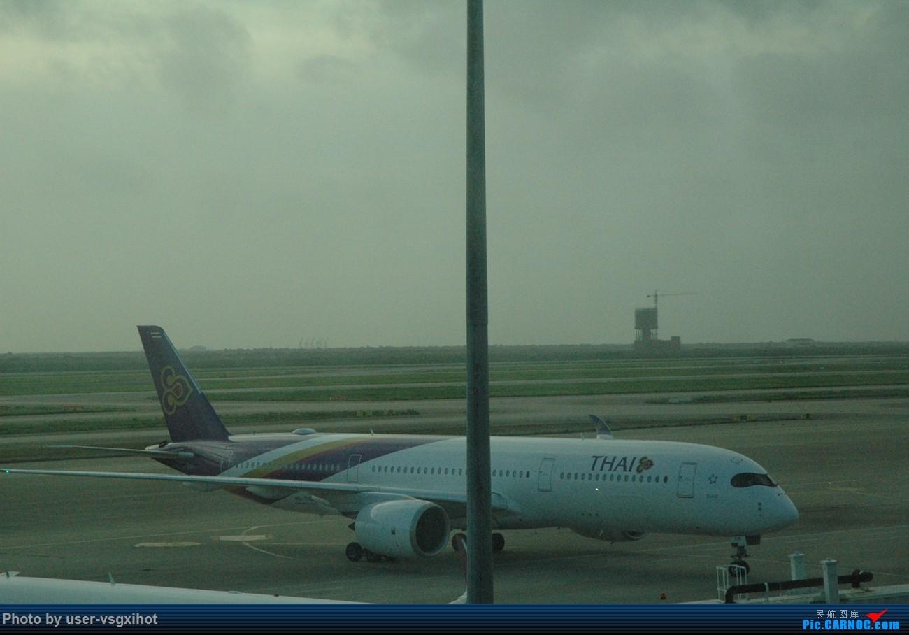 Re:[原创]【Hans游记(6)出埃及记】(PART 1)经阿航转机初识埃及,40度高温下の开罗一日游 AIRBUS A350-900  上海浦东国际机场