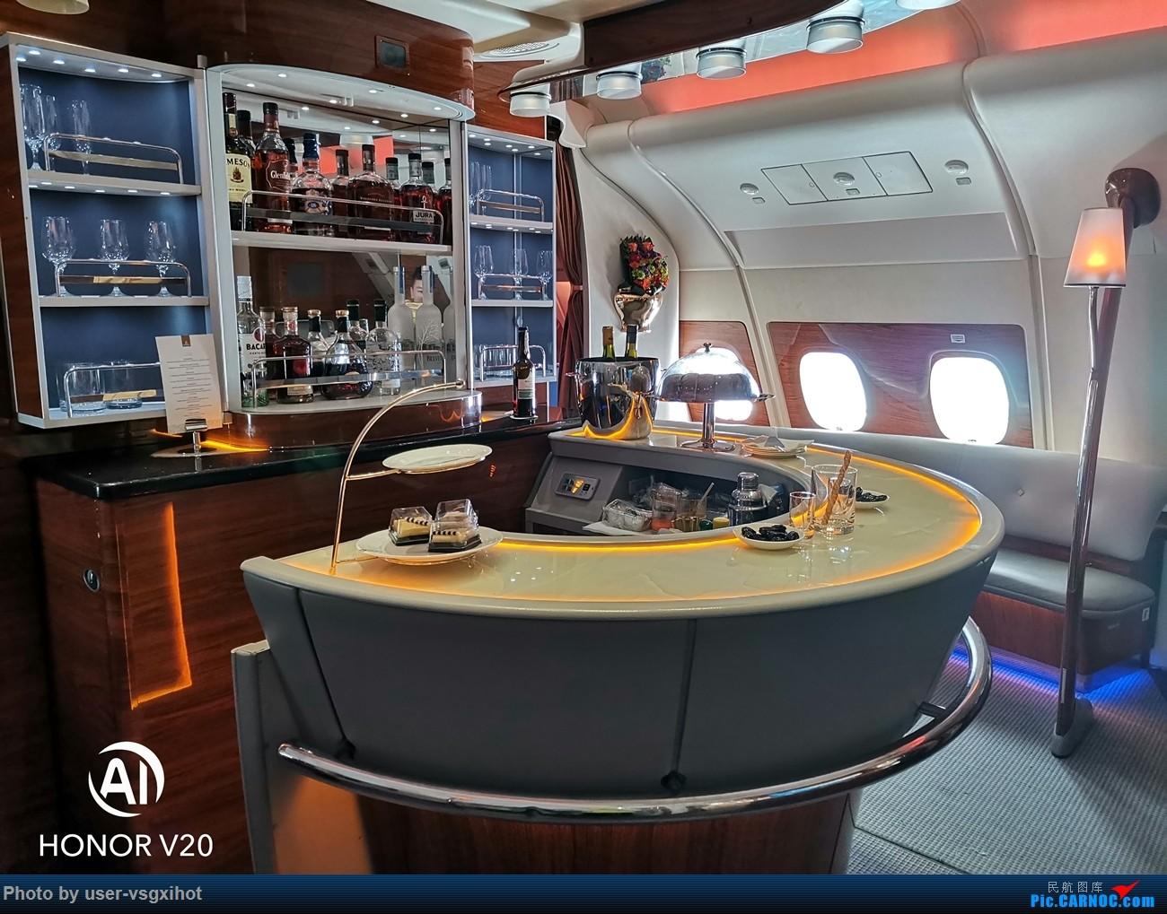 Re:Re:[原创]【Hans游记(6)出埃及记】(PART 1)经阿航转机初识埃及,40度高温下の开罗一日游 AIRBUS A380-800 A6-EOA 空中