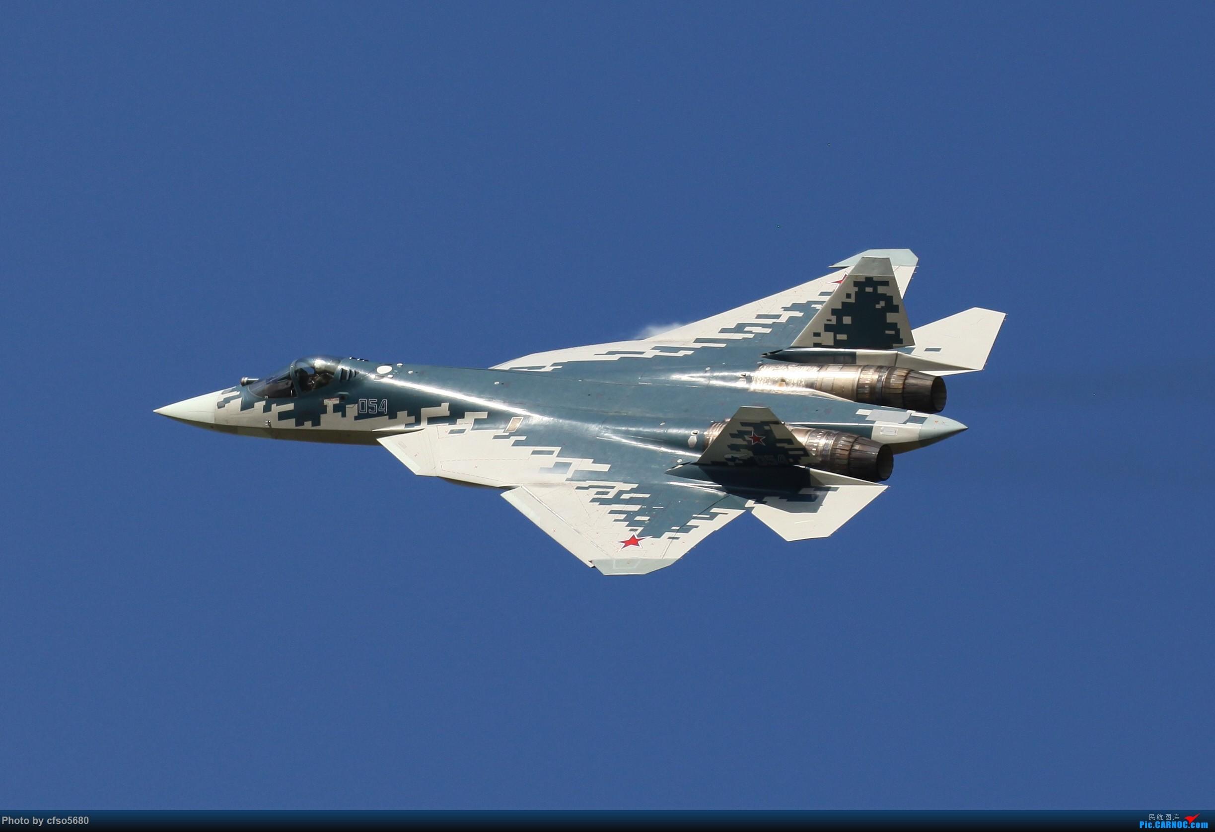 Re:[原创]2019莫斯科航展-su57首次飞行展示 SU57 54 茹科夫斯基