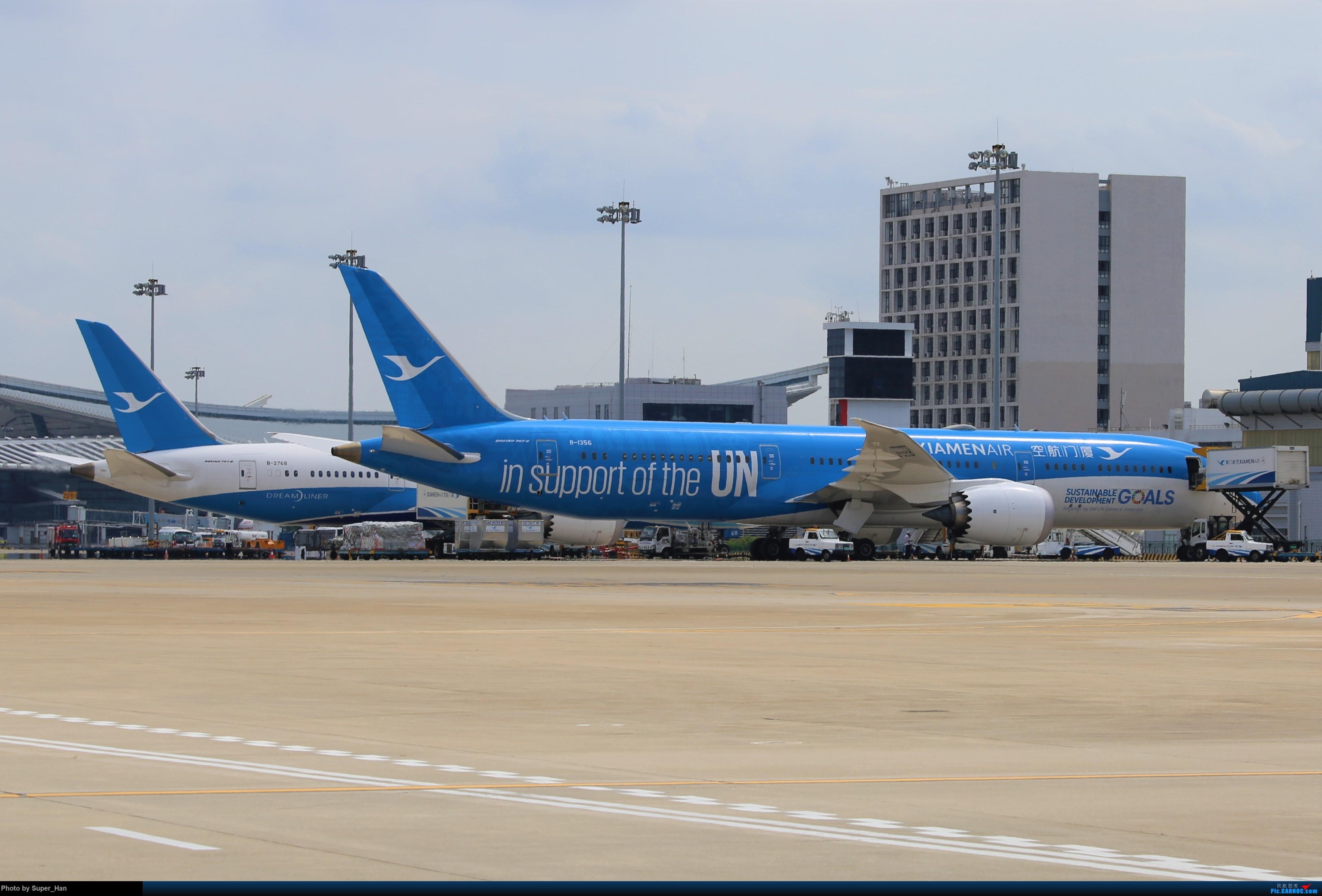 Re:[原创]0831初访XMN BOEING 787-9 B-1356 中国厦门高崎国际机场