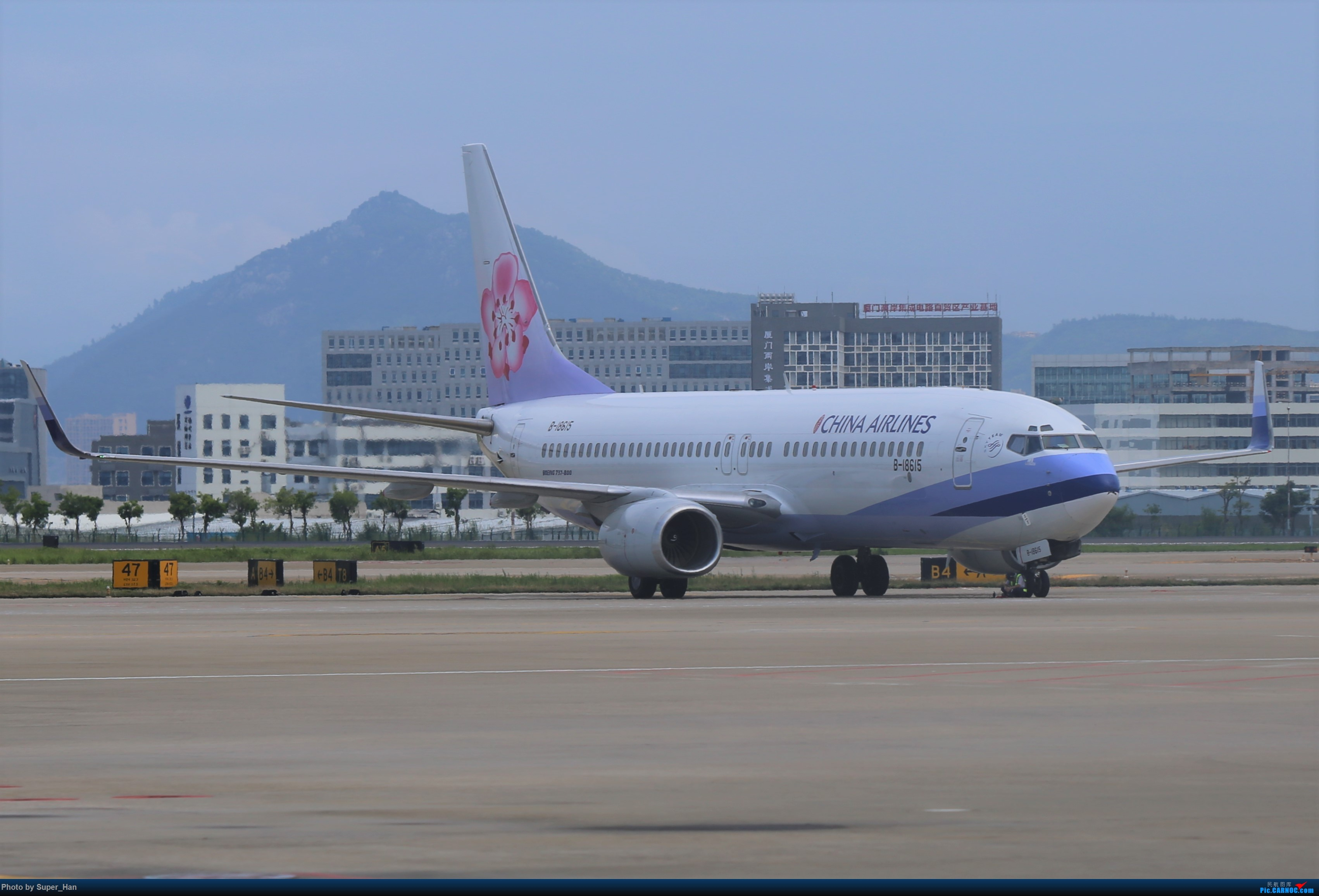 Re:[原创]0831初访XMN BOEING 737-800 B-18615 中国厦门高崎国际机场