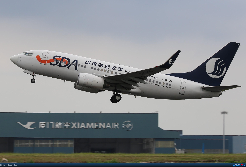 Re:[原创]0831初访XMN BOEING 737-700 B-5205 中国厦门高崎国际机场