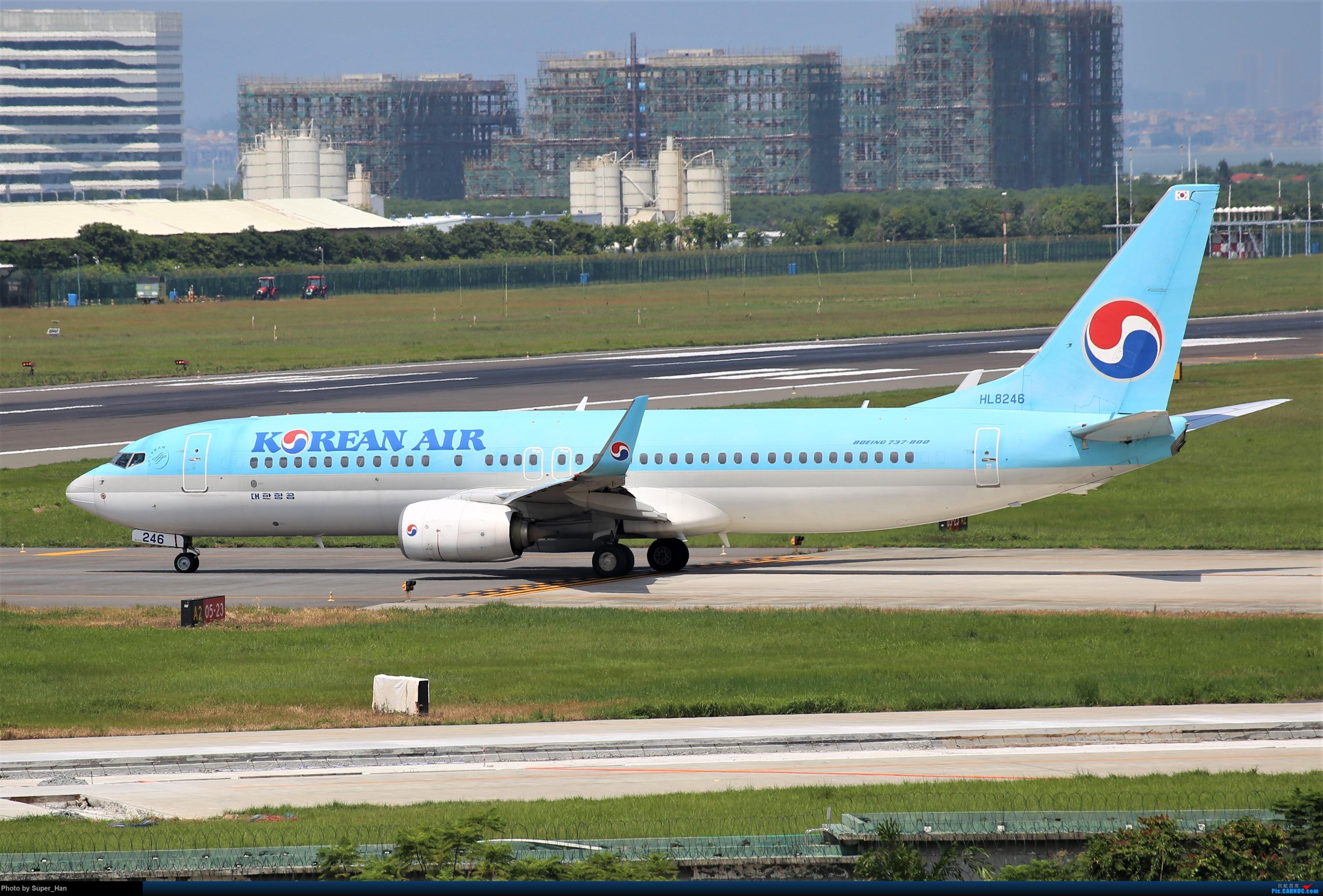 Re:[原创]0831初访XMN BOEING 737-800 HL8246 中国厦门高崎国际机场