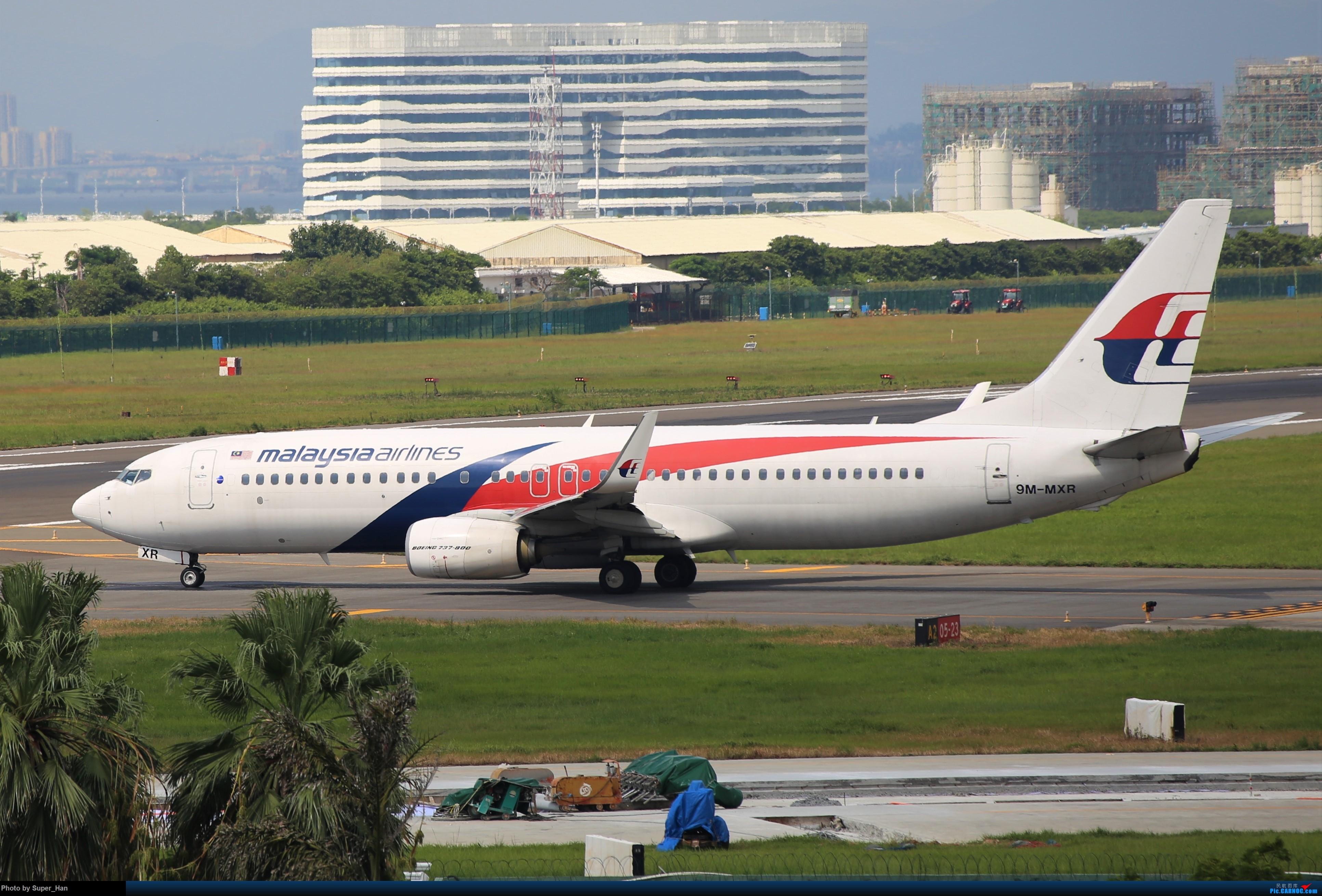 Re:[原创]0831初访XMN BOEING 737-800 9M-MXR 中国厦门高崎国际机场