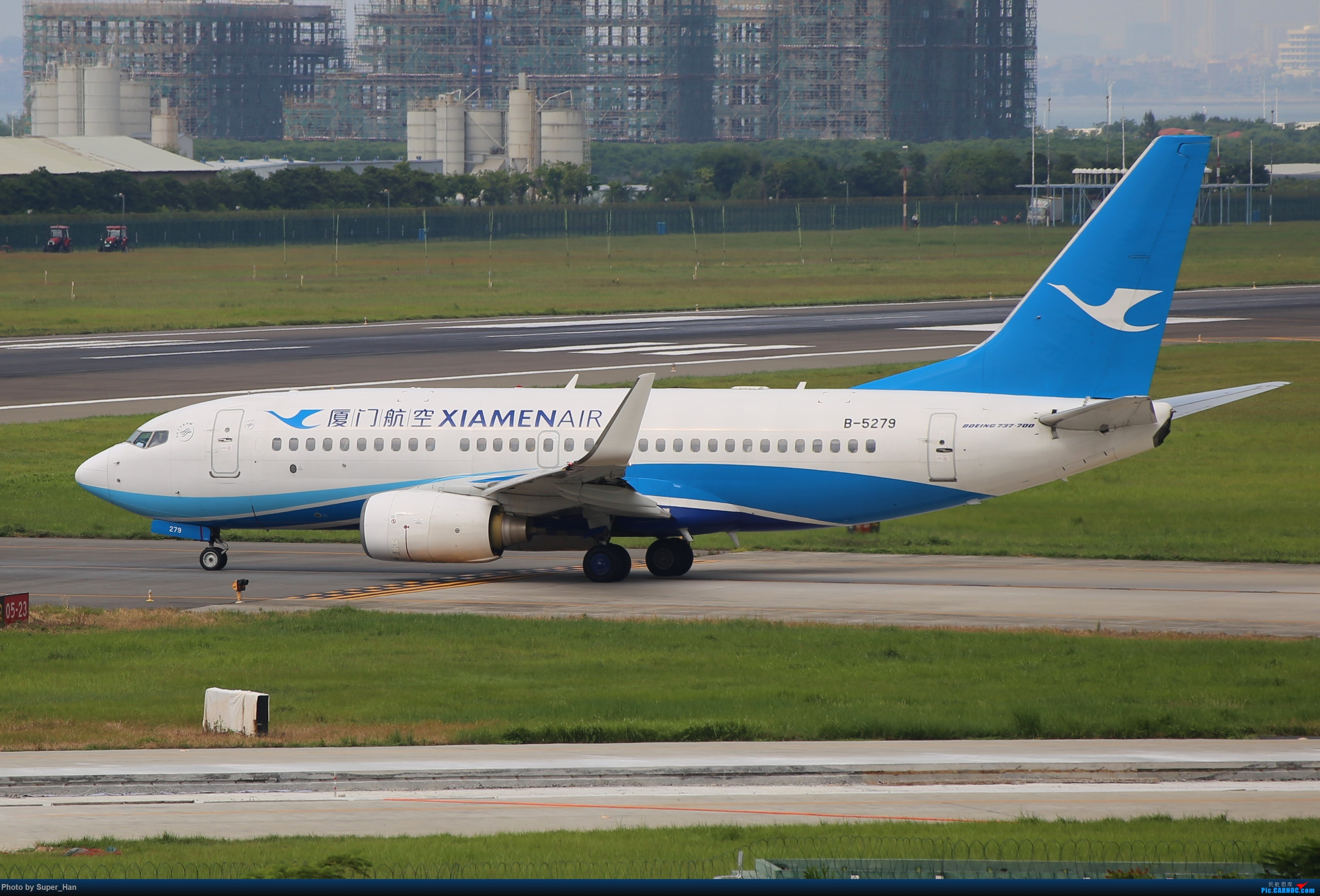 Re:[原创]0831初访XMN BOEING 737-700 B-5279 中国厦门高崎国际机场