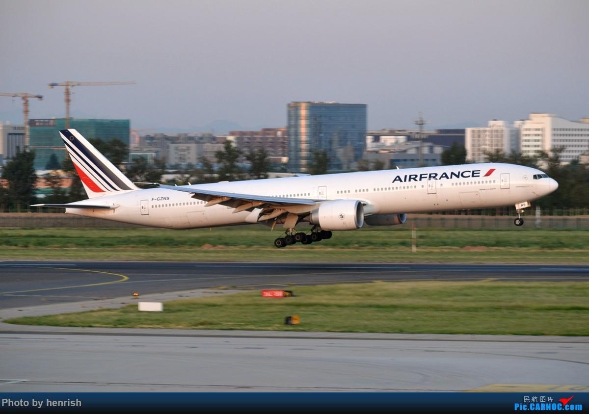 Re:[原创]【与肥威同游(60)】2019AUG,临时起意去北京,来回体验新老机型,外加爆人品的拍机。【广东青少年拍机小队】【广州,你好!】 BOEING 777-300ER F-GZNS 中国北京首都国际机场