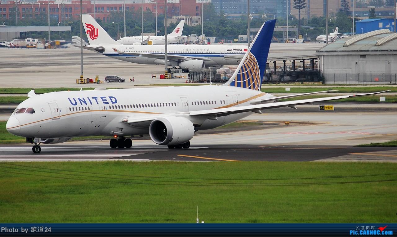 Re:延误的美联788起飞 1800*1200 BOEING 787-8 N27901 中国成都双流国际机场