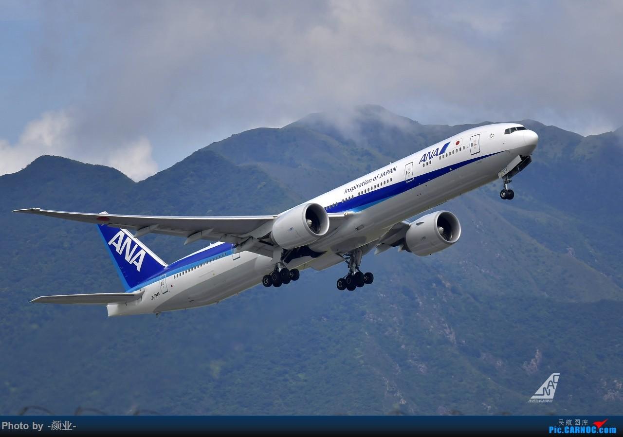 Re:[原创]走近飞机起降点(无尽创意) BOEING 777-300ER JA784A 中国香港国际机场