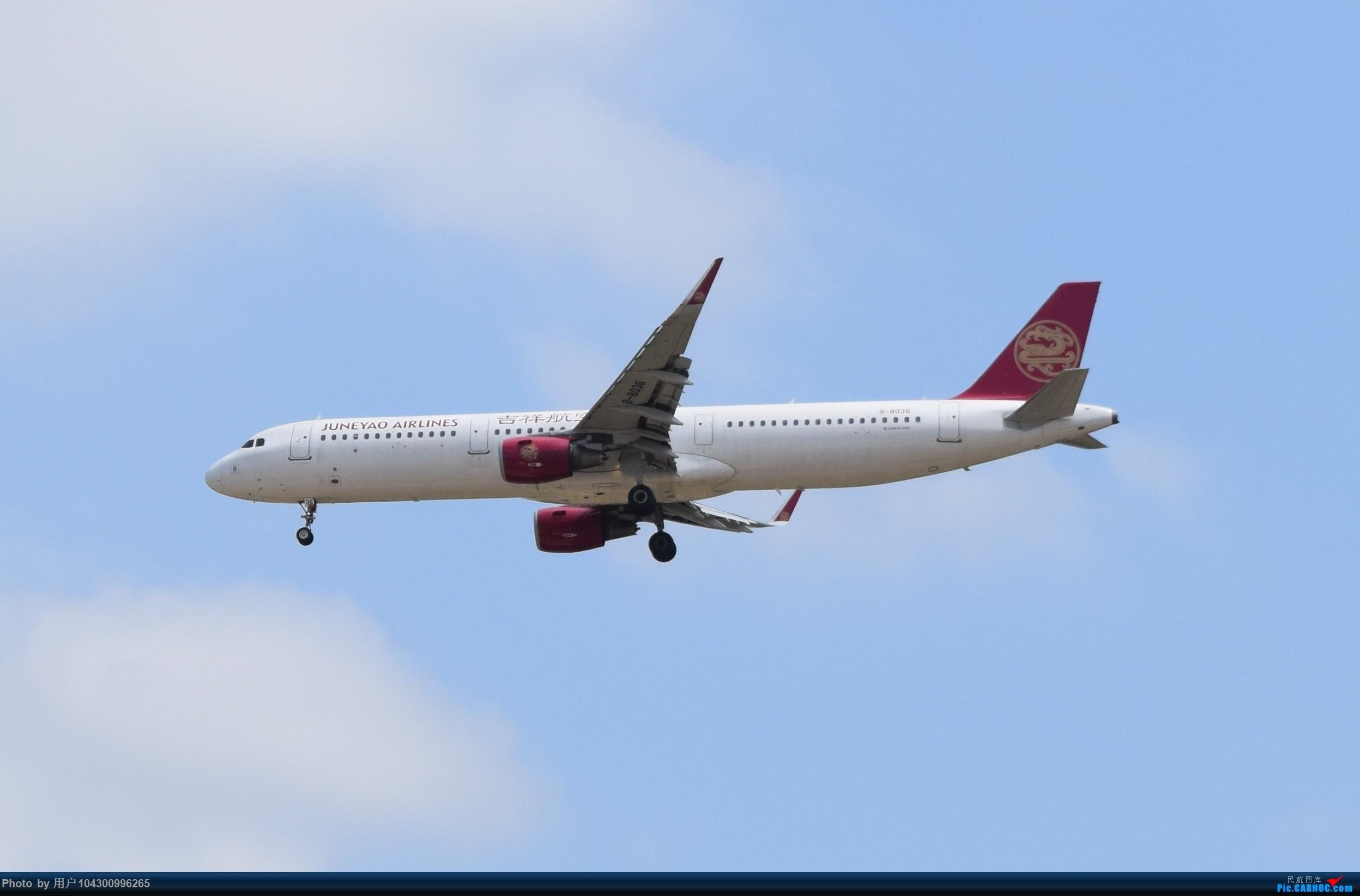 Re:[原创]贵阳龙洞堡杂图一览 AIRBUS A321-200 B-8036 中国贵阳龙洞堡国际机场