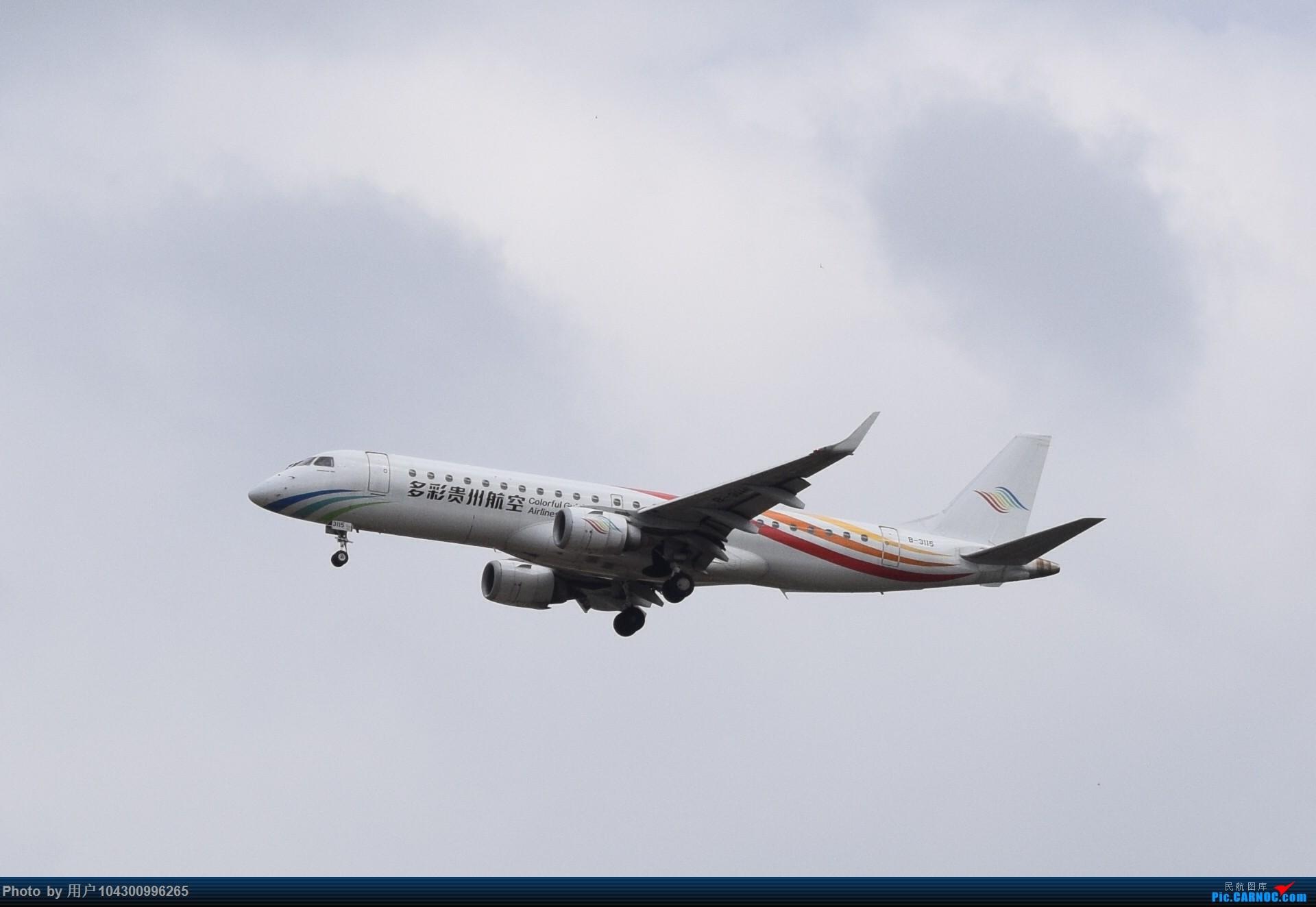 Re:[原创]贵阳龙洞堡杂图一览 EMBRAER E-190 B-3115 中国贵阳龙洞堡国际机场