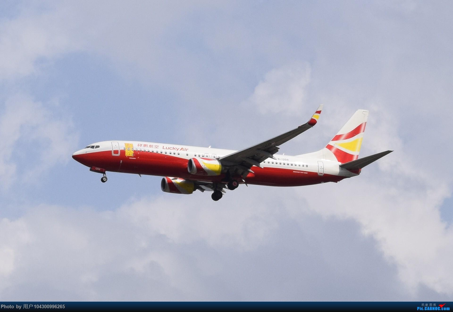 Re:[原创]贵阳龙洞堡杂图一览 BOEING 737-800 B-1209 中国贵阳龙洞堡国际机场