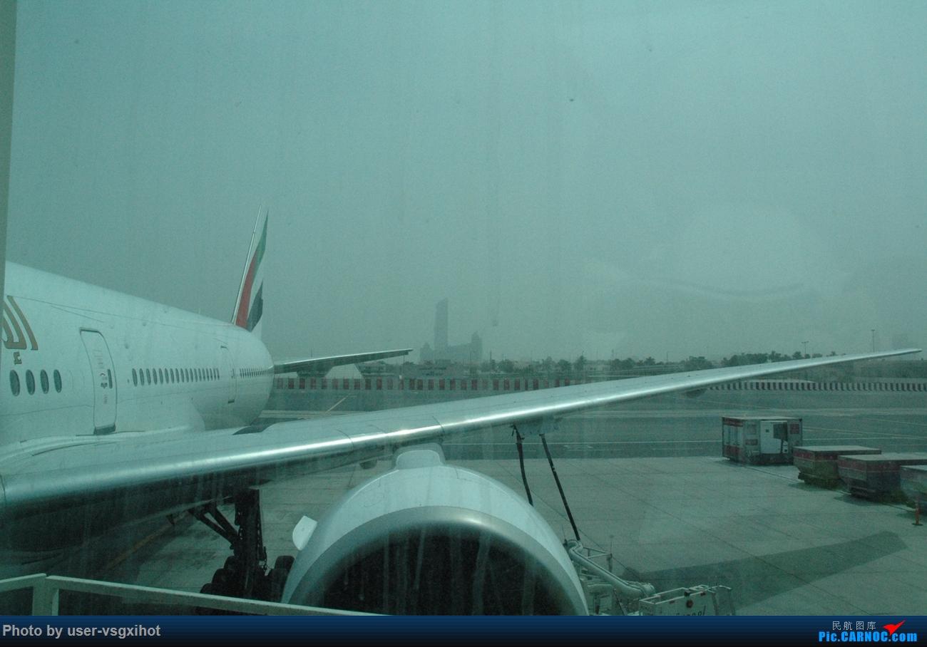 Re:[原创]【Hans游记(6)出埃及记】(PART 1)经阿航转机初识埃及,40度高温下の开罗一日游    阿拉伯联合酋长国迪拜国际机场