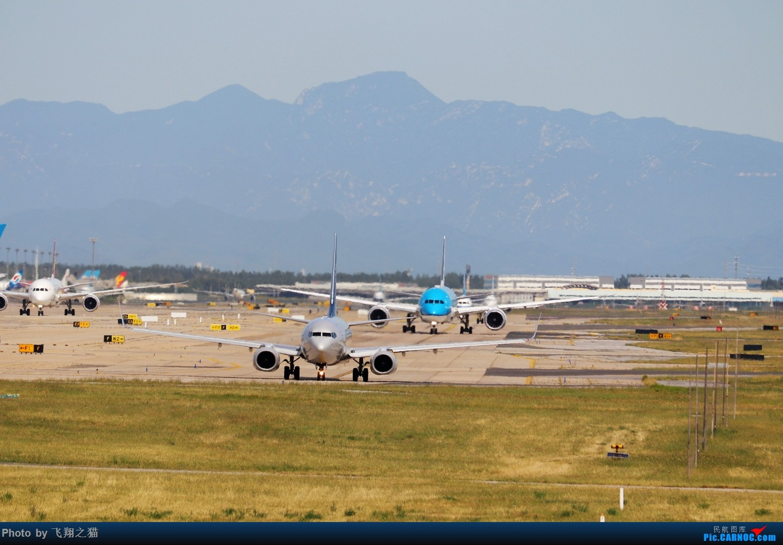 Re:[原创]飞翔之猫中秋在帝都拍机 BOEING 747-8I  北京首都机场 中国北京首都国际机场