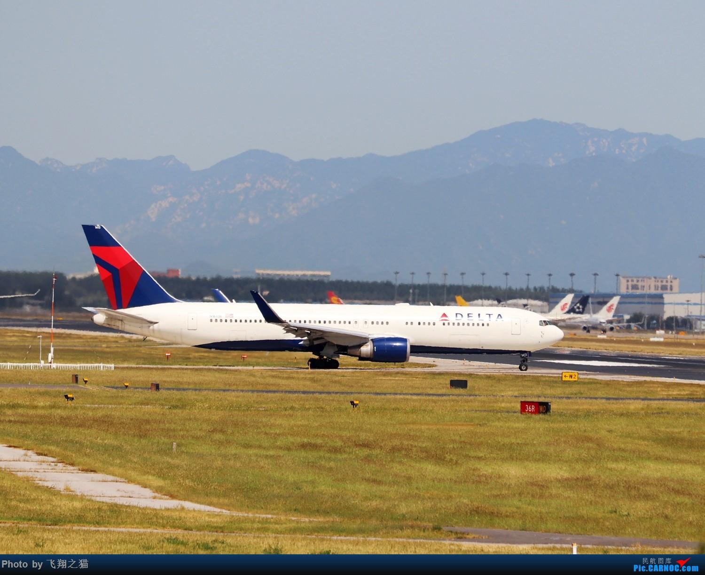 Re:[原创]飞翔之猫中秋在帝都拍机 BOEING 767-300ER  北京首都机场
