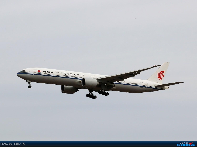 Re:[原创]飞翔之猫中秋在帝都拍机 BOEING 777-300ER  北京首都机场
