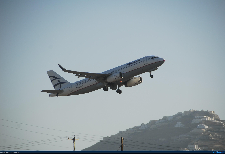 Re:[原创]暑假旅拍(旅途中拍机。。。) AIRBUS A320 SX-DND 希腊圣托里尼机场