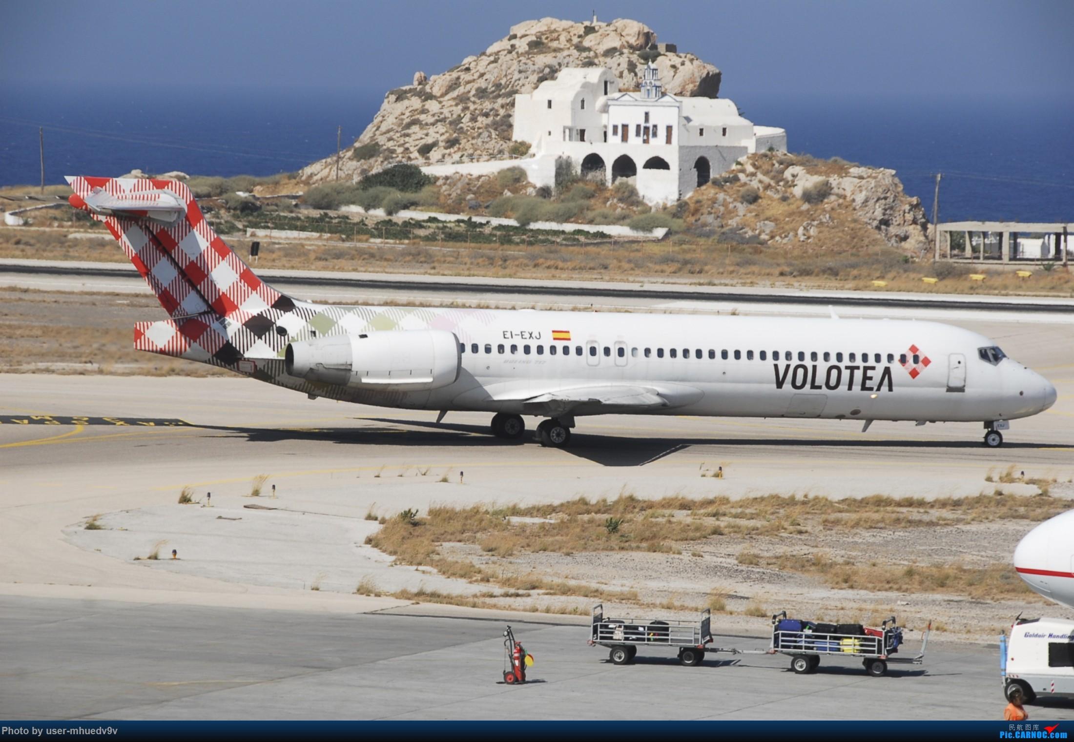 Re:[原创]暑假旅拍(旅途中拍机。。。) BOEING 717-200 EI-EXJ 希腊圣托里尼机场