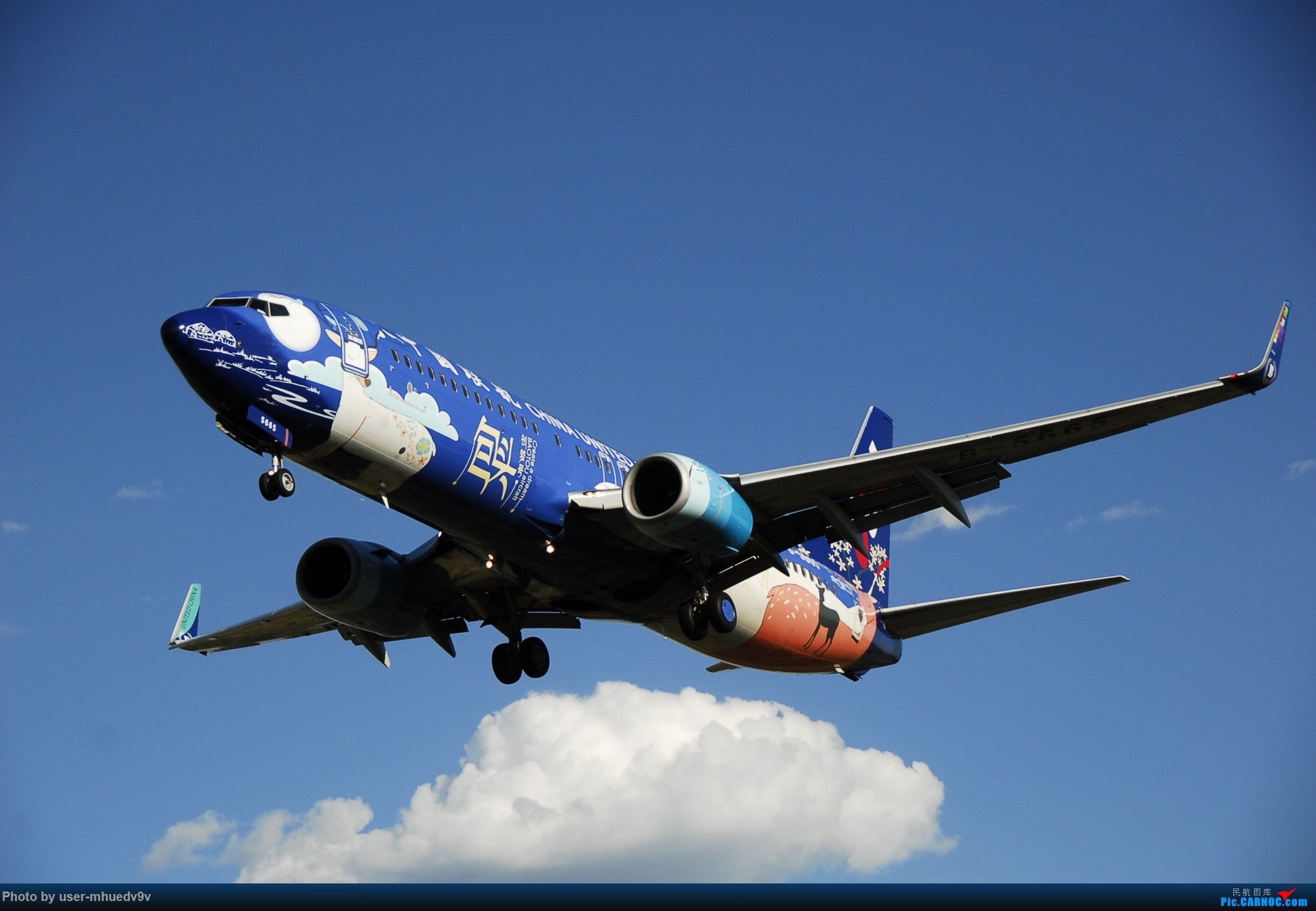 Re:[原创]暑假旅拍(旅途中拍机。。。) BOEING 737-800 B-5665 中国北京南苑机场