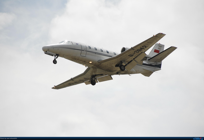 Re:[原创]暑假旅拍(旅途中拍机。。。) CESSNA 560XL B-3642 中国北京首都国际机场